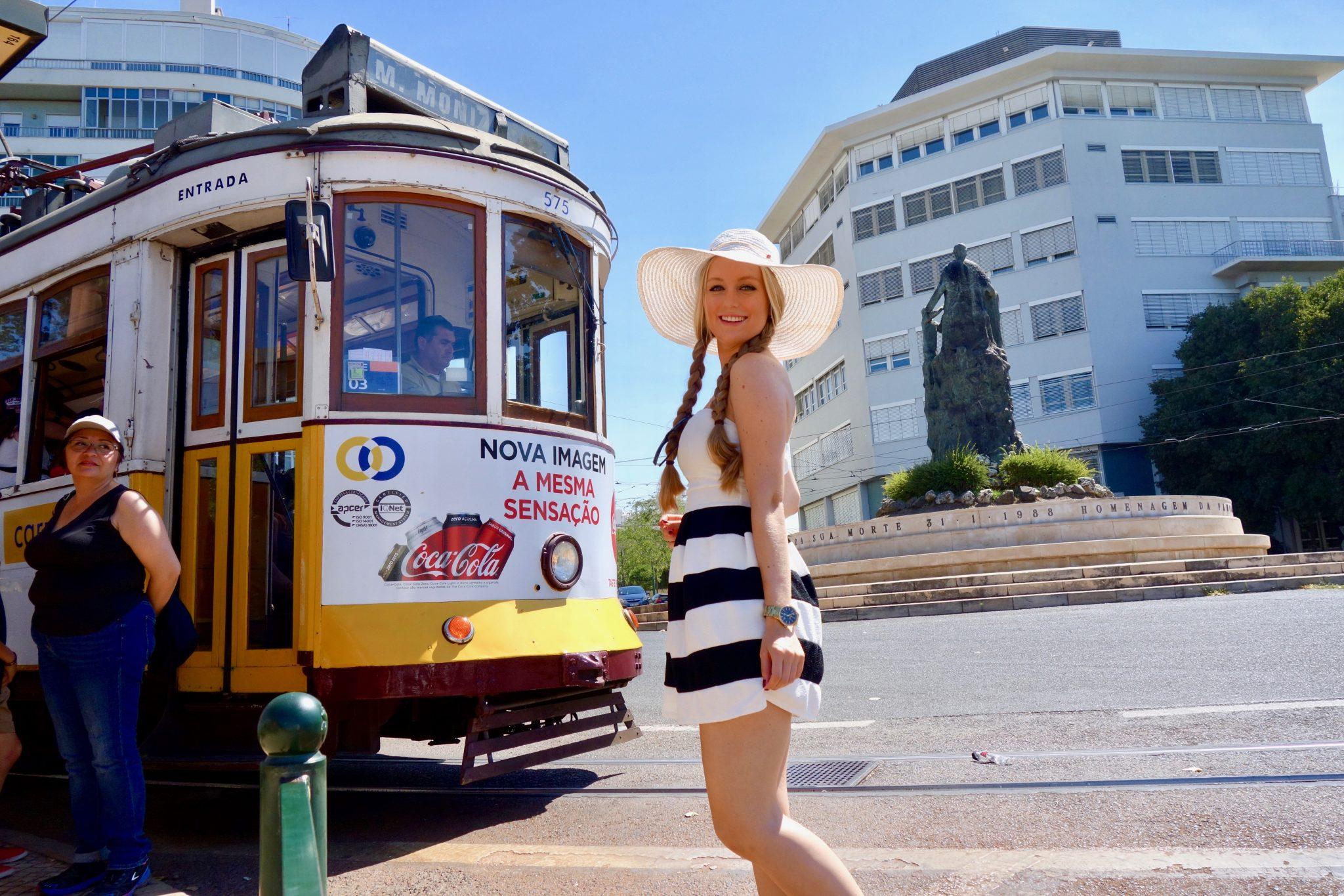 Lissabon: Tram 28E, die Touristenattraktion schlechthin!