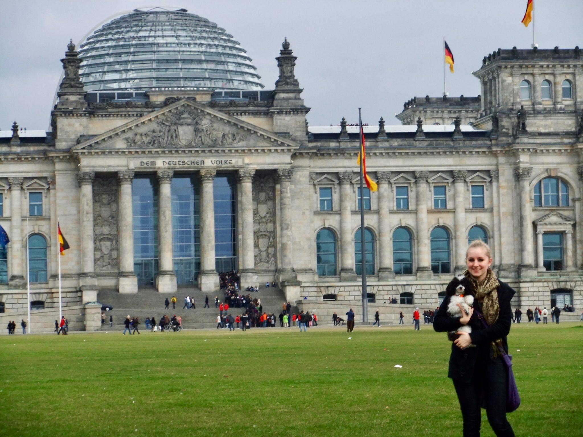 Berlin: Reichstagsgebäude / Bundestag