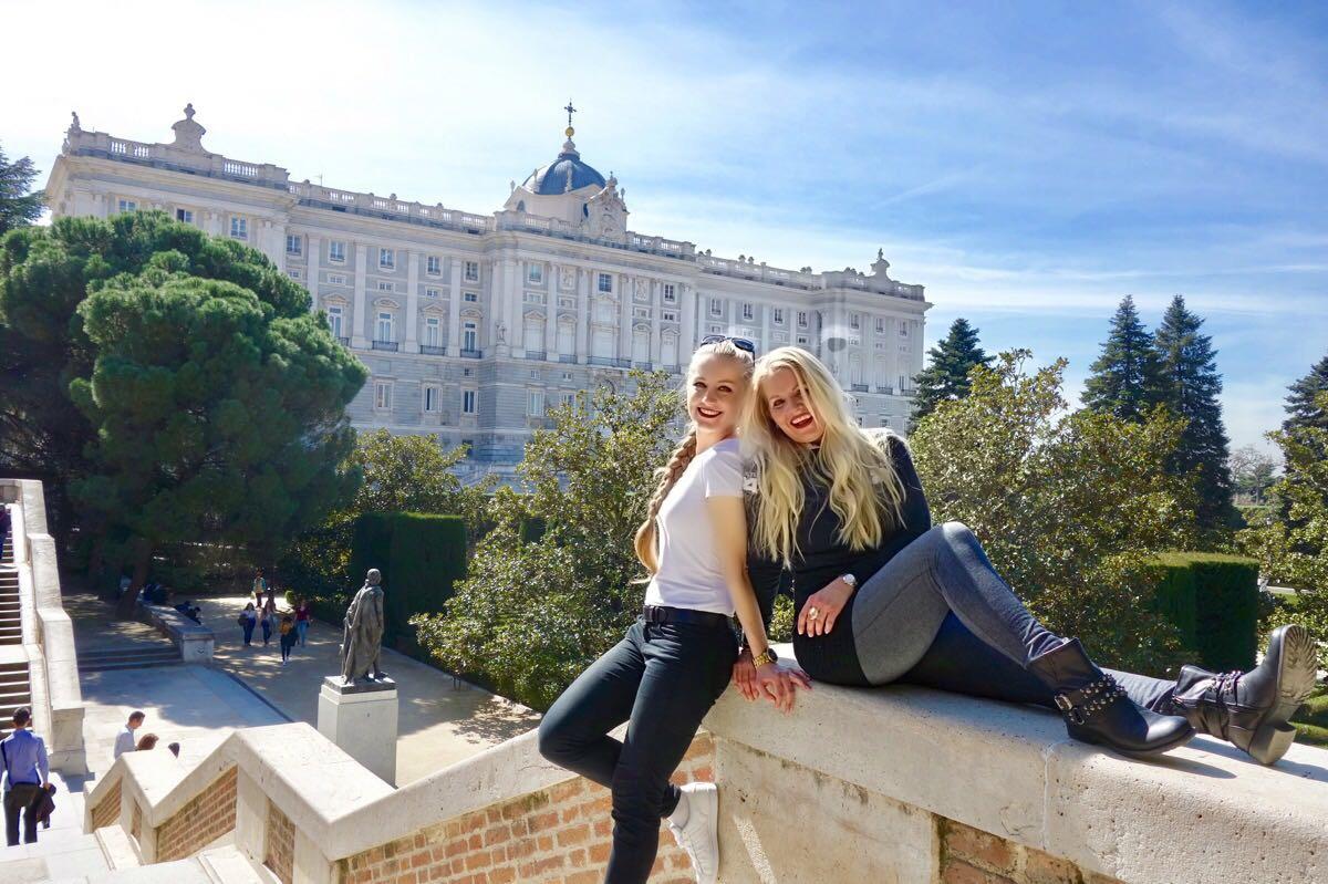 Madrid: Palacio Real mit meiner Mama beim Campo del Moro
