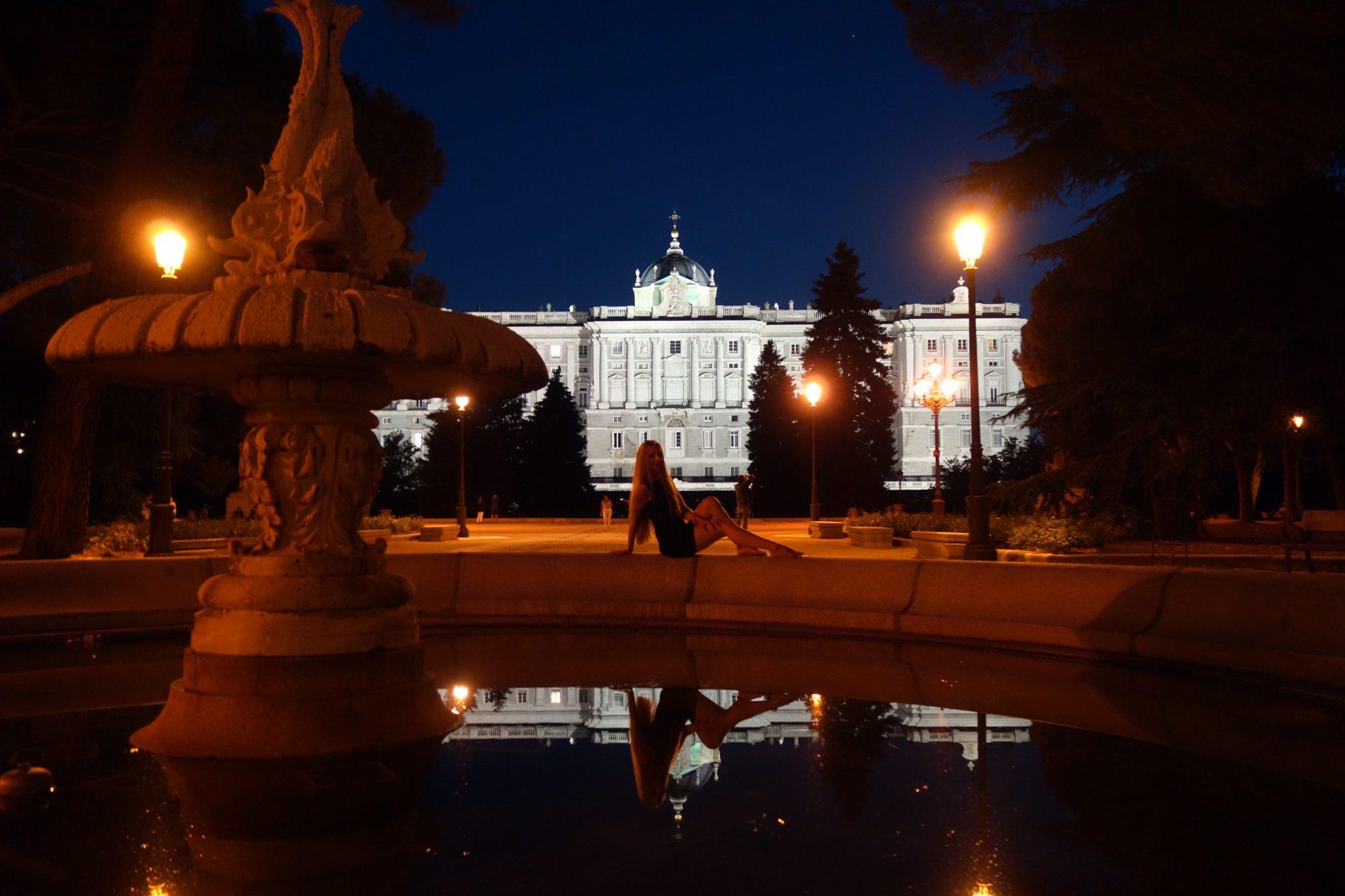 Madrid: Palacio (ein wunderschöner Park)