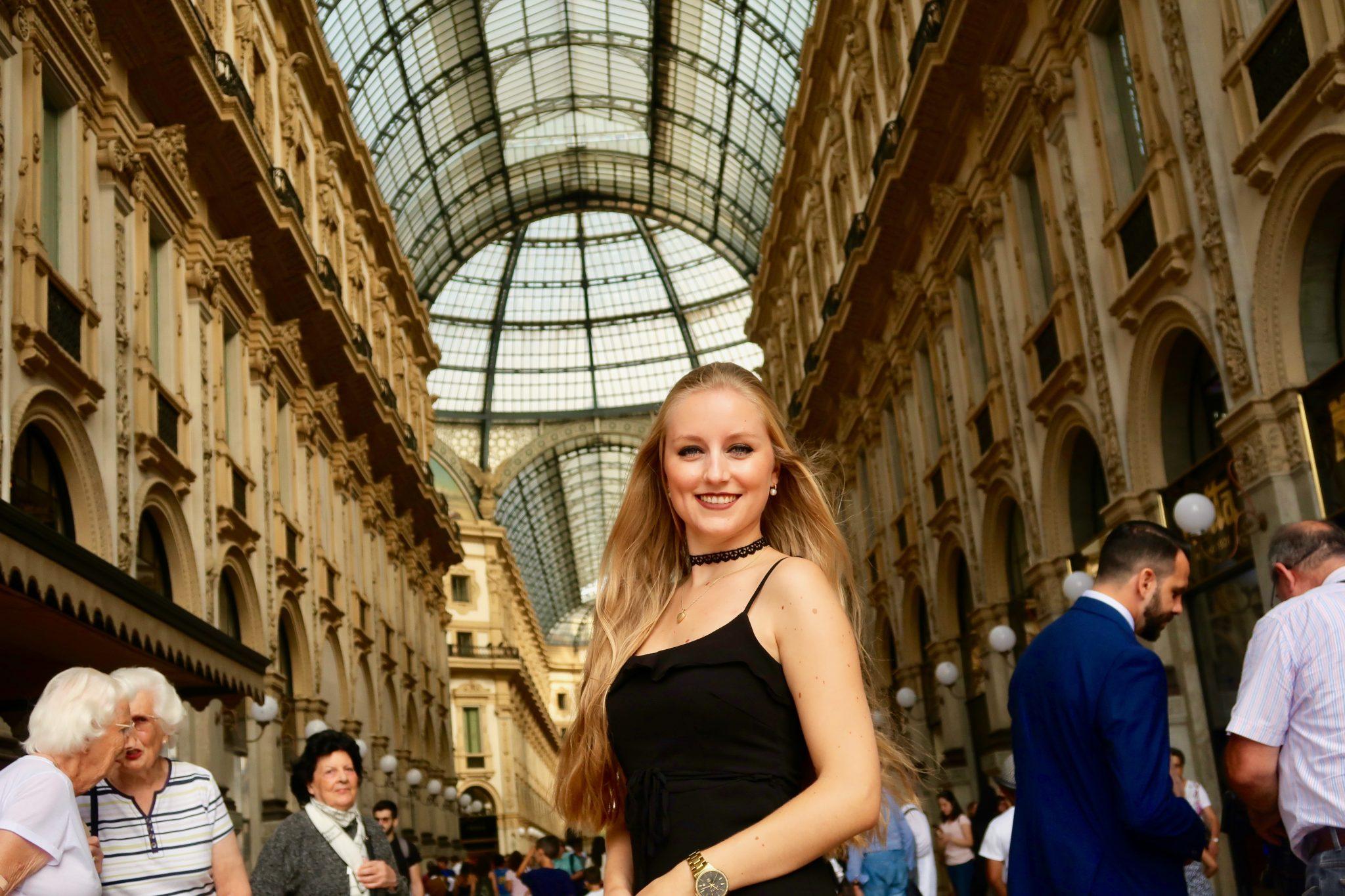 Mailand: Galleria Vittorio Emanuele II (eine der ältesten überdachten Einkaufsgallerien der Welt, perfekt zum shoppen, findest du nicht auch?)
