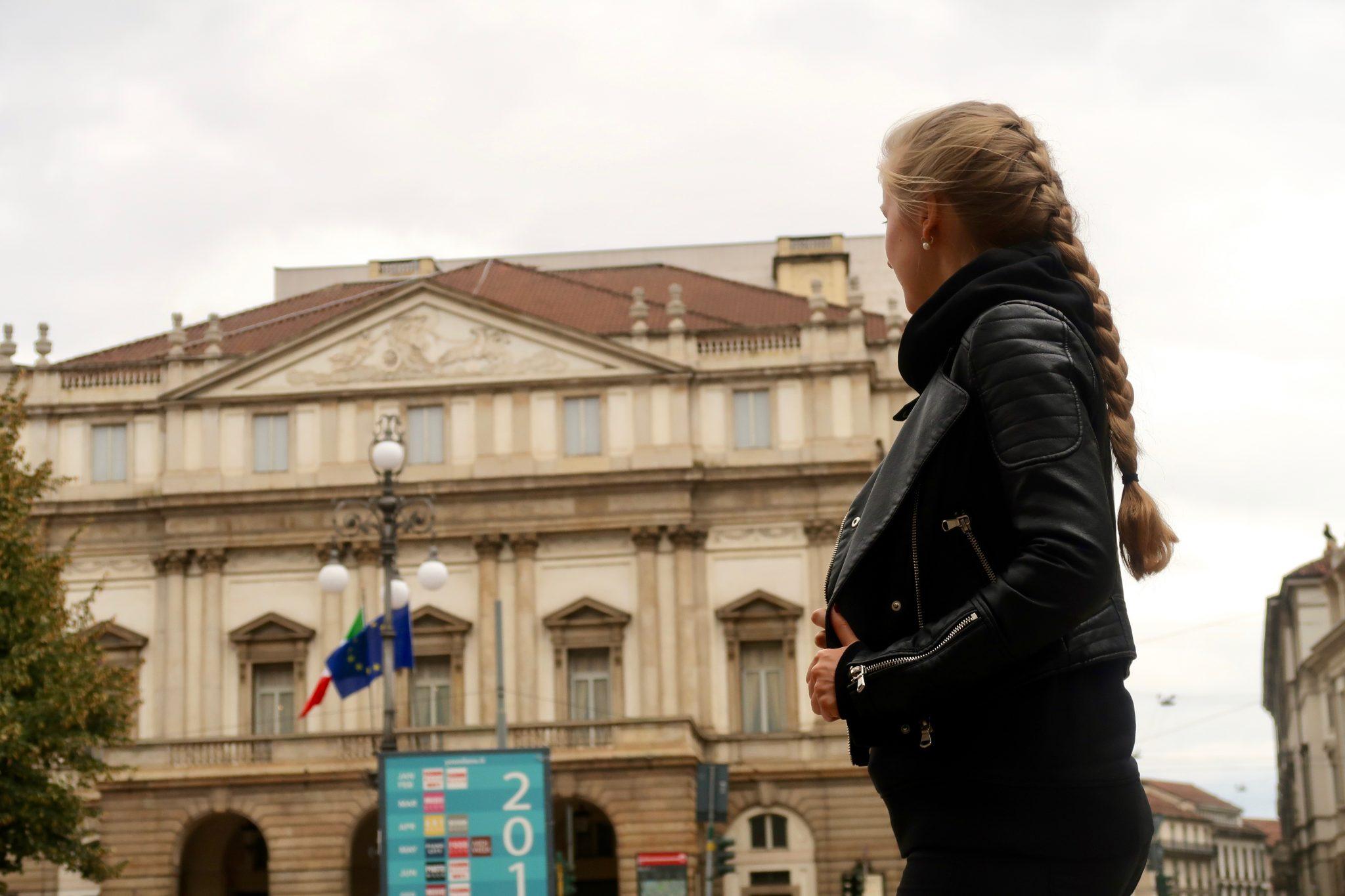 Mailand: Teatro alla Scala (eines der bekanntesten und bedeutendsten Opernhäuser der Welt)