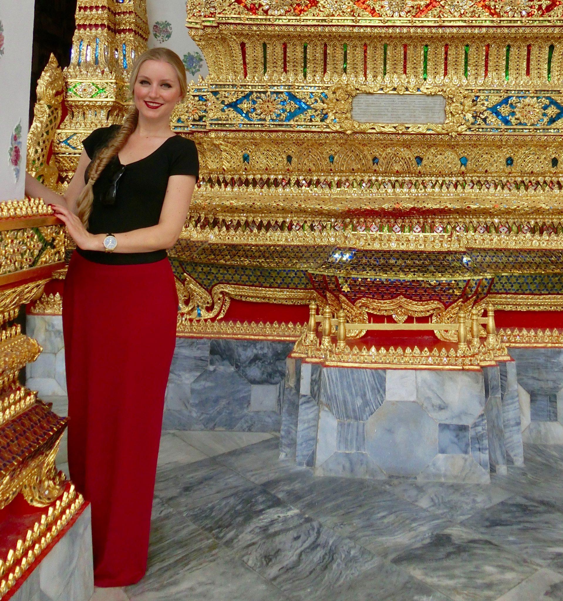 Thailand, Bangkok: Wat Pho: sehr viel Liebe und Detail kannst du in den Tempeln wieder finden