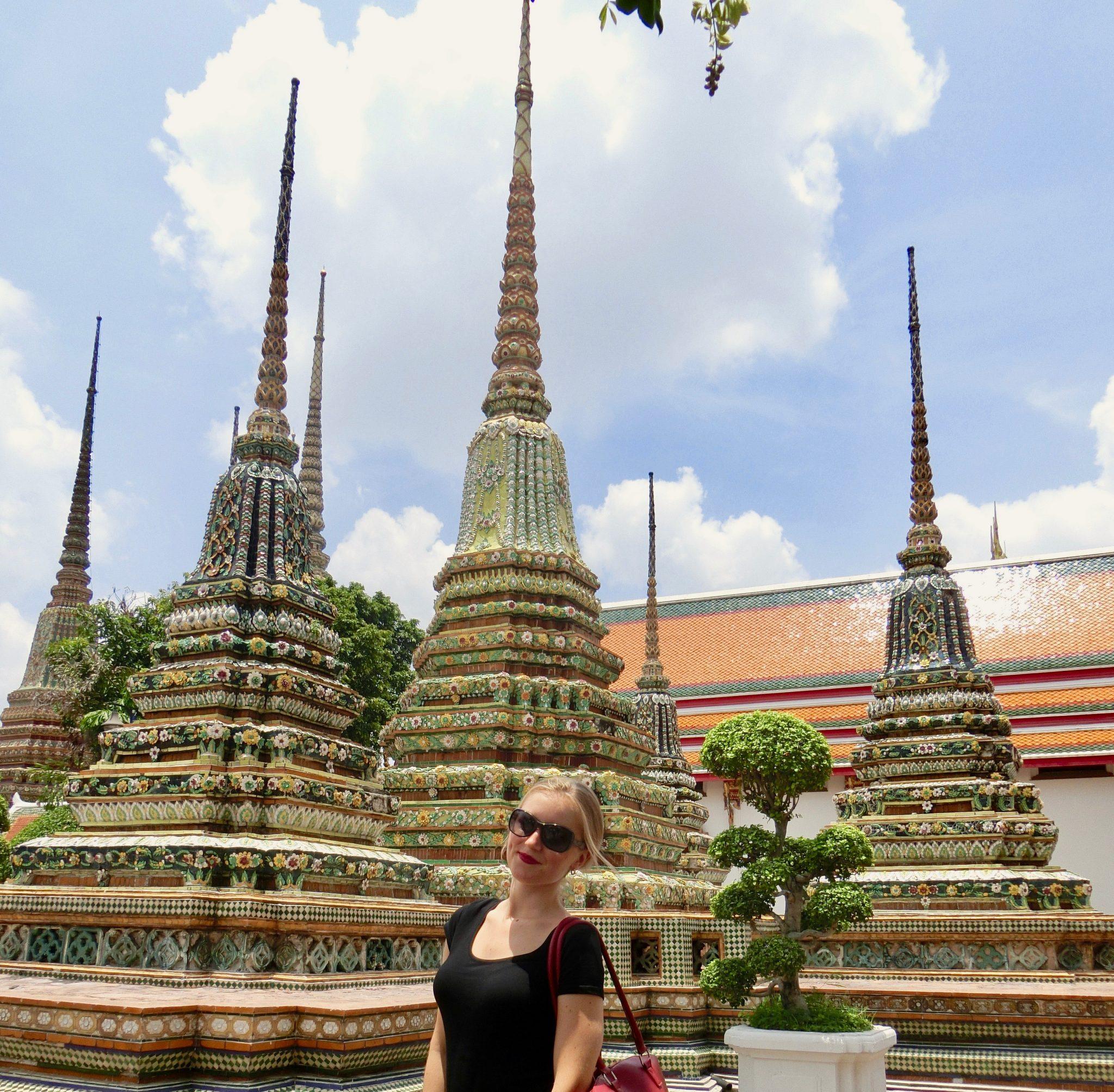 Thailand, Bangkok: Wat Pho, Rama I - IV