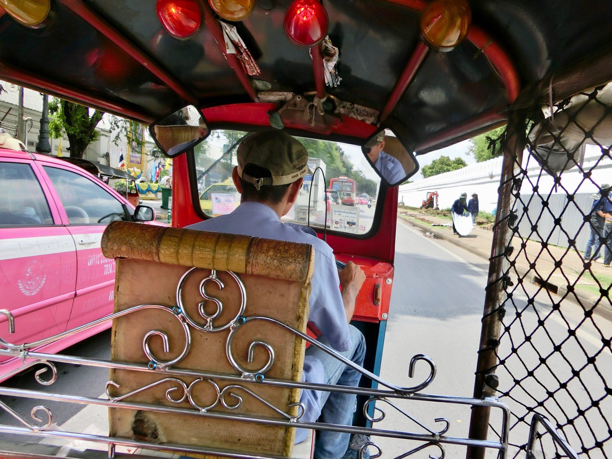 Thailand, Bangkok: im Tuk Tuk