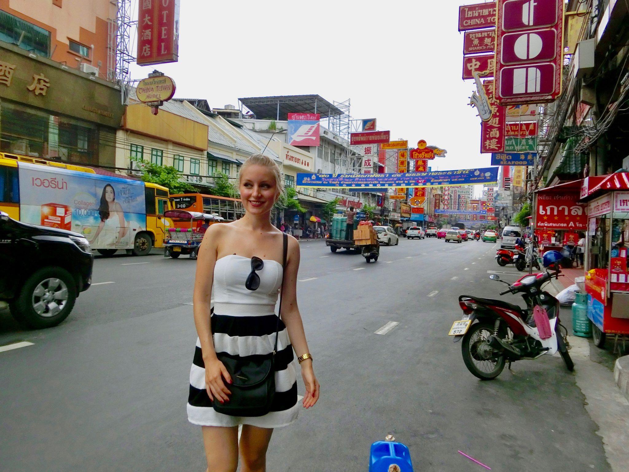 Thailand, Bangkok, Chinatown: Wenn du noch nie in China warst und dich dafür interessierst, wie es dort wohl aussehen mag...