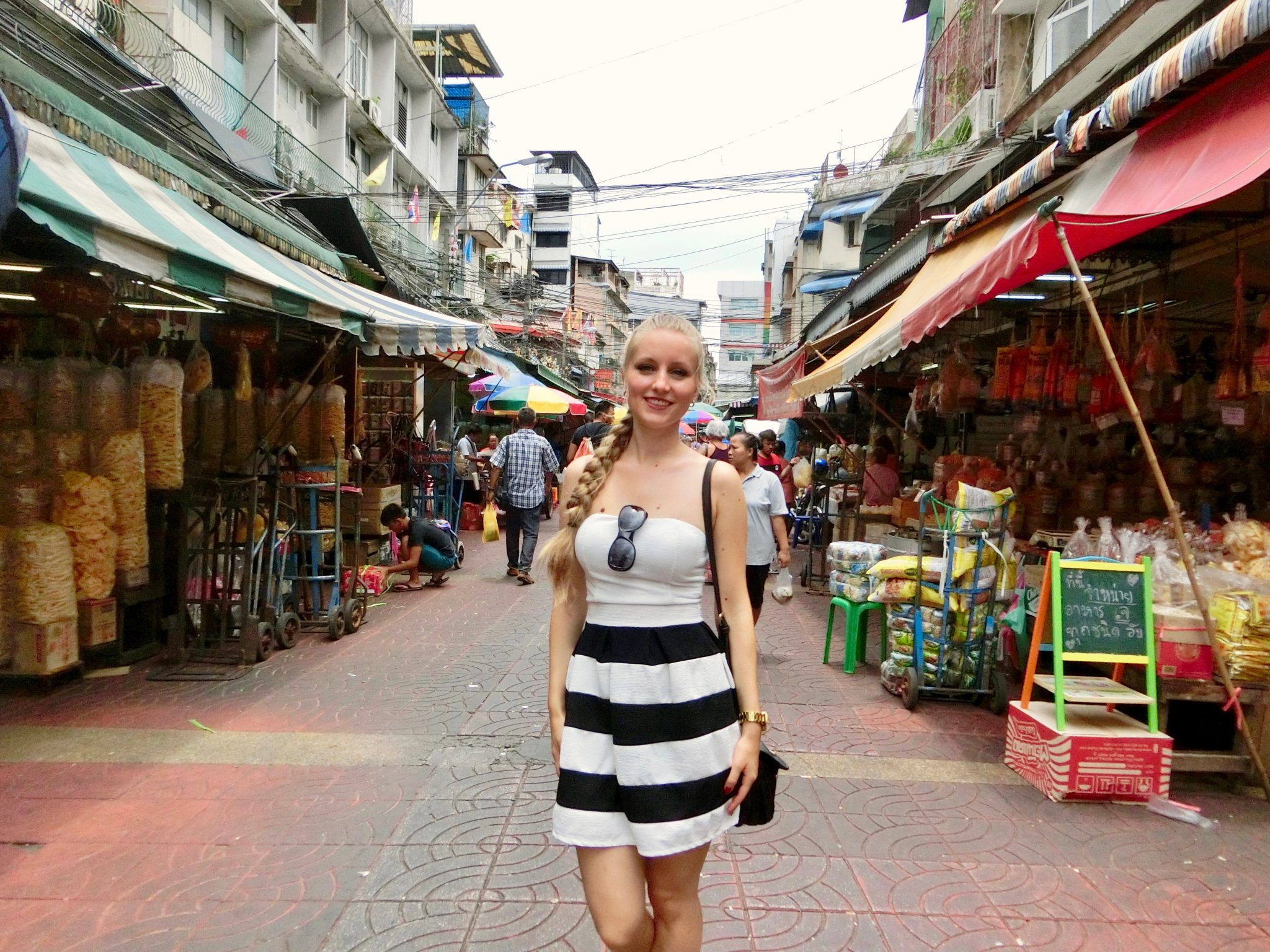 Thailand, Bangkok, Chinatown: ... genau dann, dann solltest du Chinatown in Bangkok nicht auslassen ...