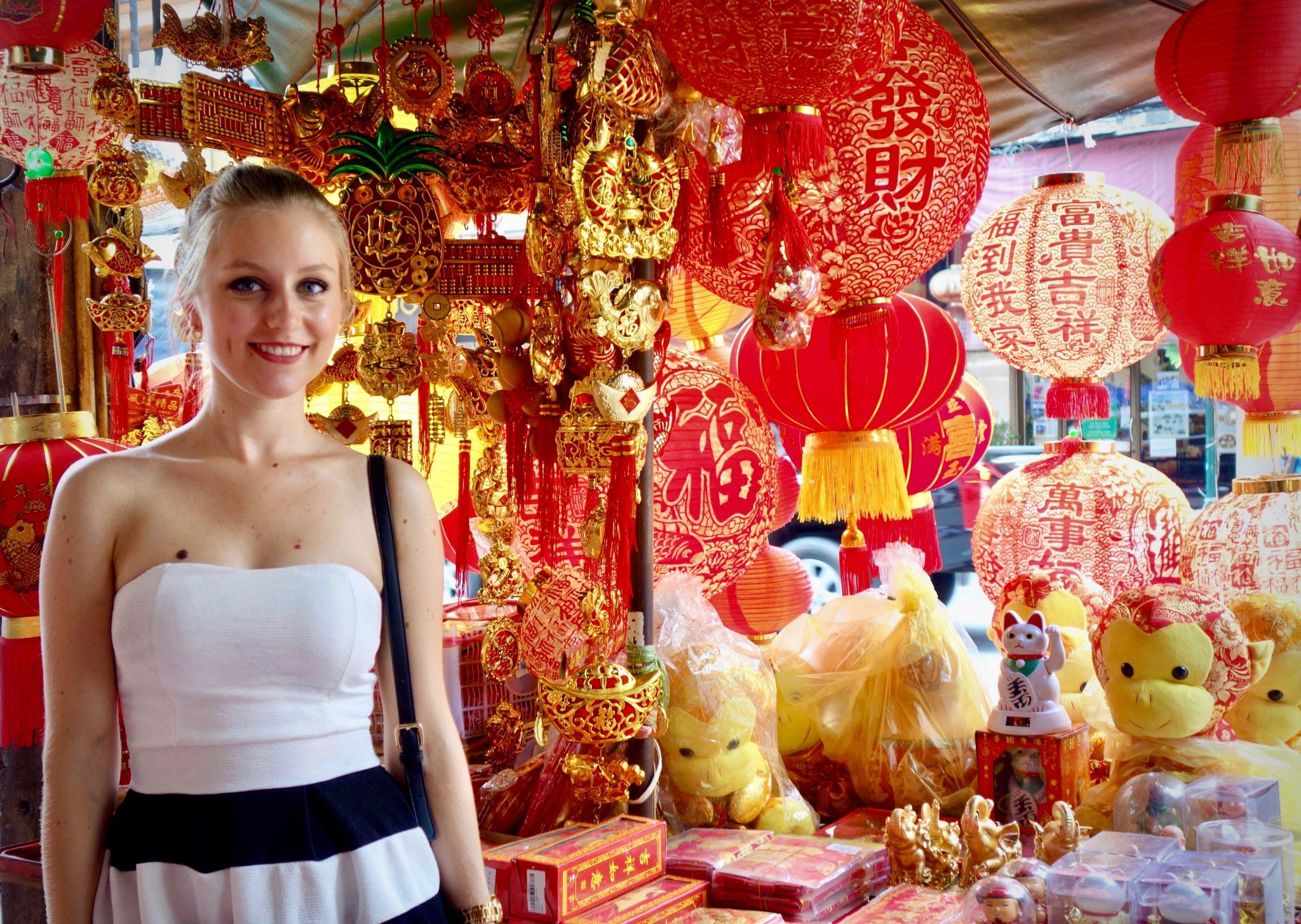 Thailand, Bangkok, Chinatown: Dort findest du überall kleine Straßenstände wie diesen hier.