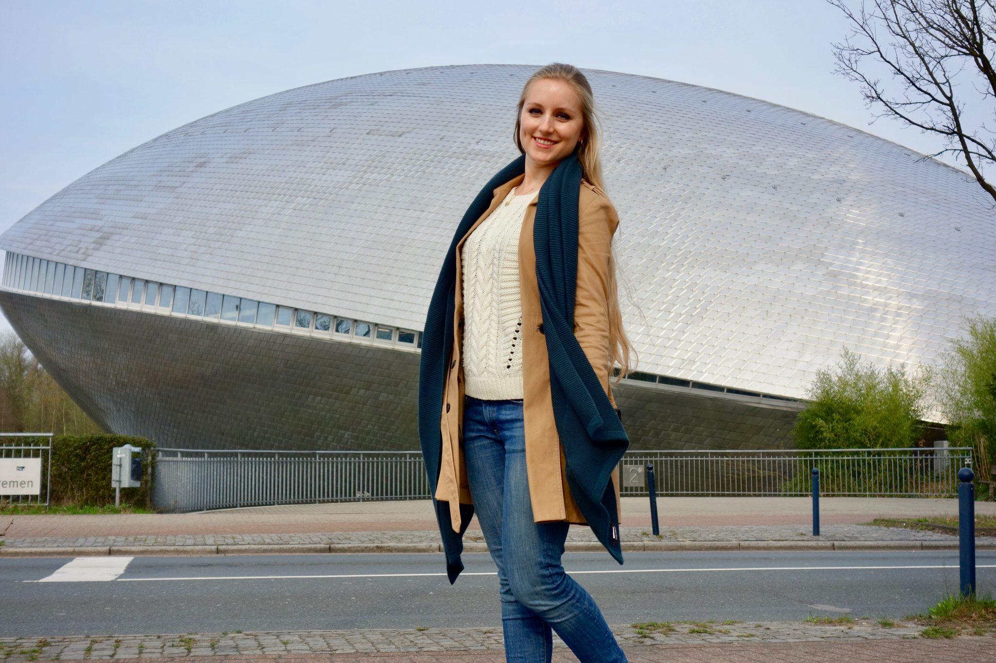 Bremen, Universum: Eines meiner Highlights in Bremen: Das Universum! Es ist ein Erlebnismuseum, das aussieht wie ein Raumschiff!
