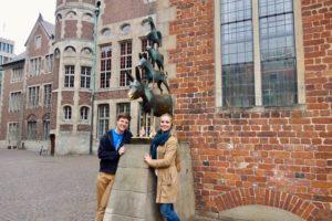 Die vier Helden meiner Kindheit: die Bremer Statdmusikanten