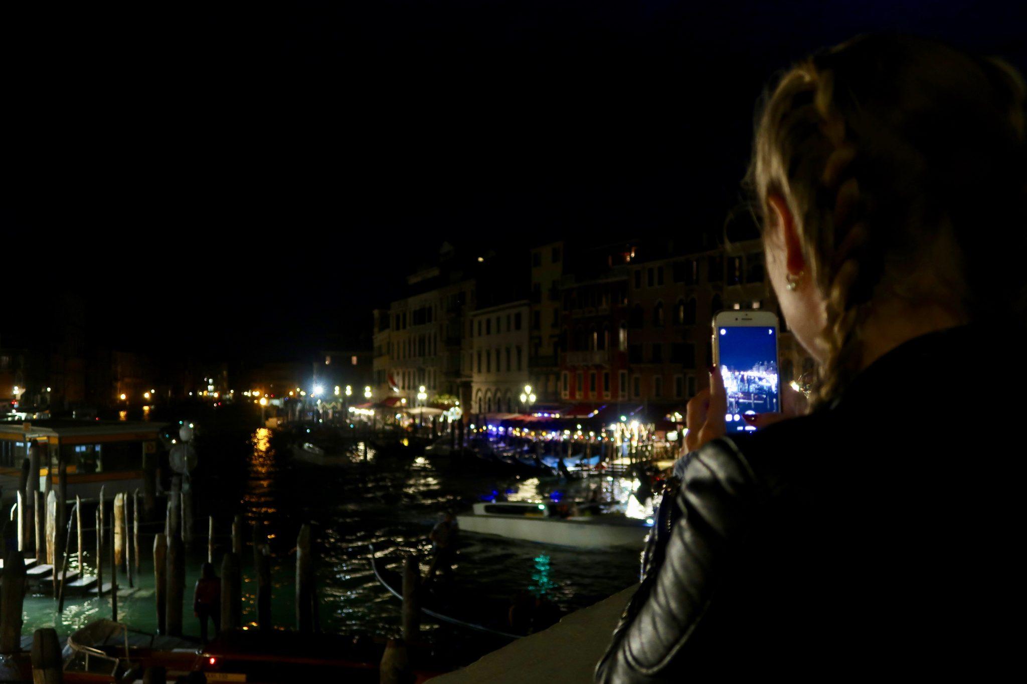 Venedig: Gran Canal, von der Rialtobrücke aus, mein absoluter Favorit