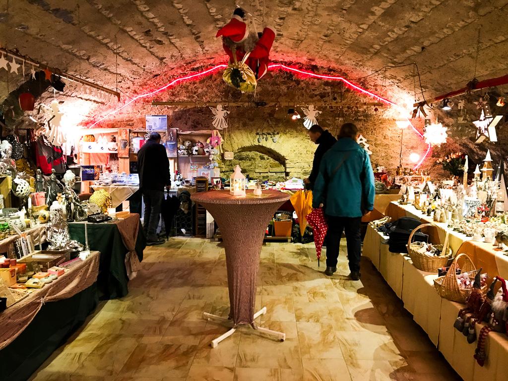 Rüdesheim, Weihnachtsmarkt der Nationen: Warst du schon einmal auf einem unterirdischen Weihnachtsmarkt?