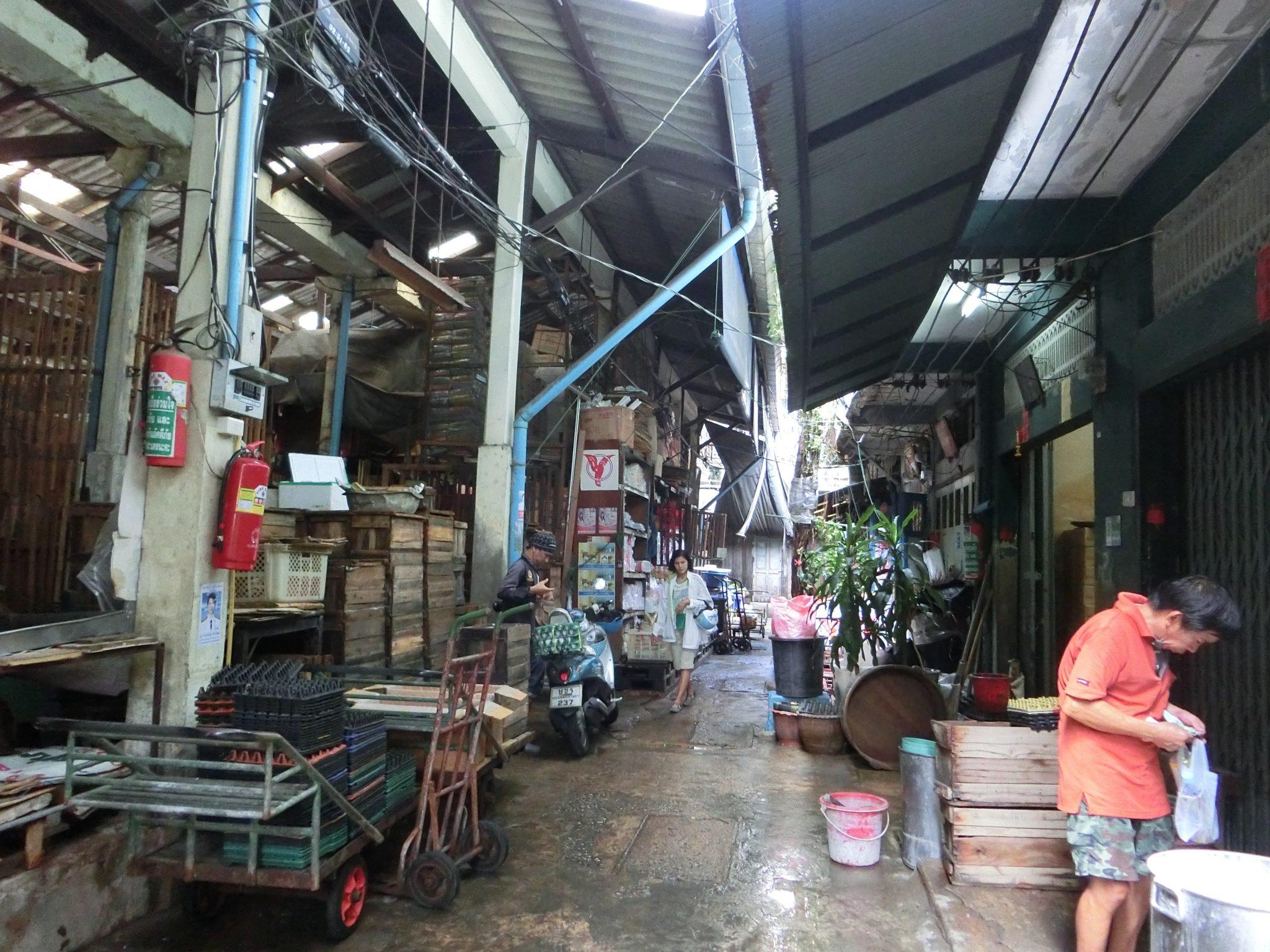 Thailand, Bangkok, Chinatown: ... es kann aber auch so aussehen...