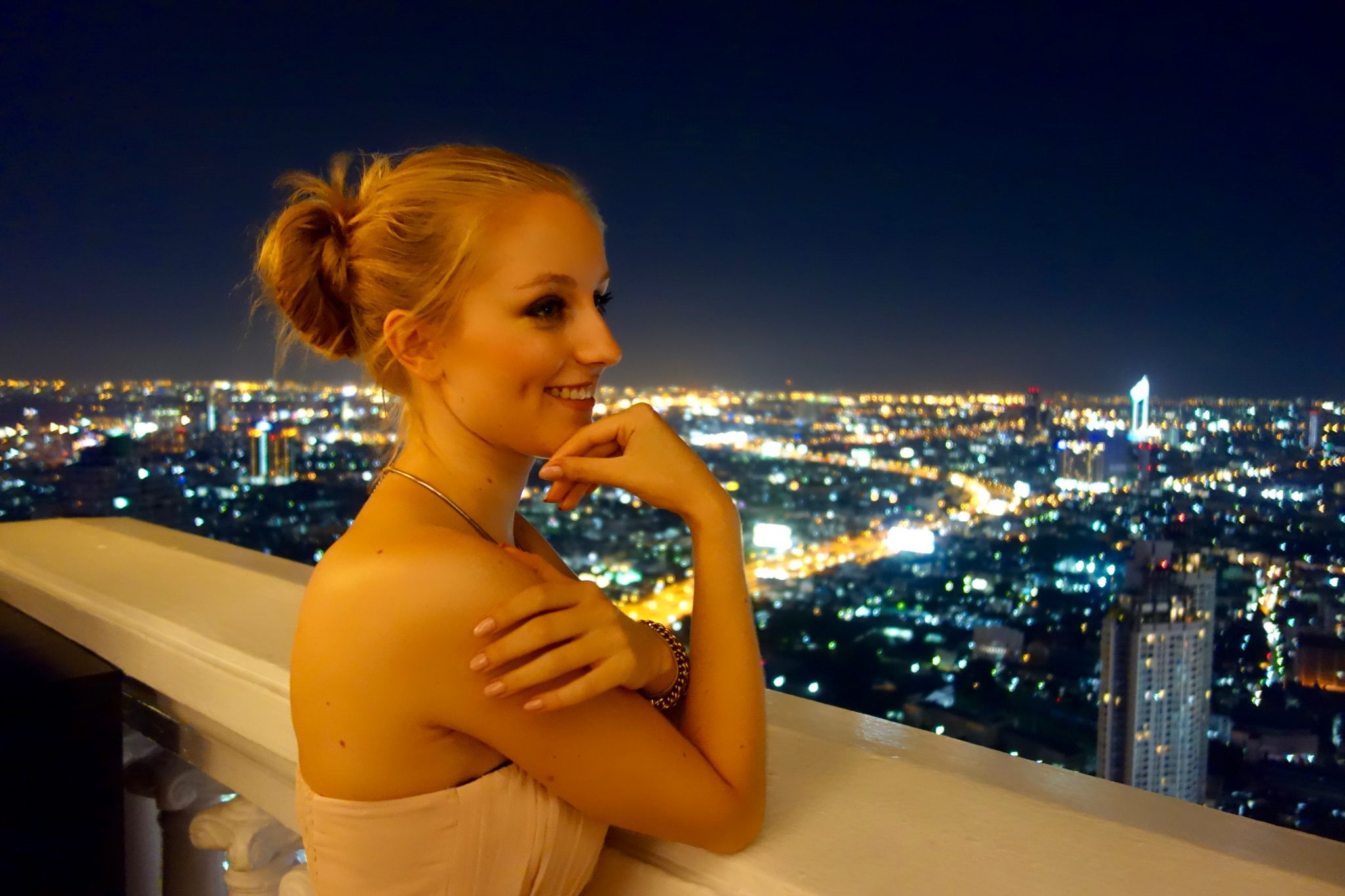 Thailand, Bangkok: Sirocco Skybar im Lebua State Tower/Lebua Hotel