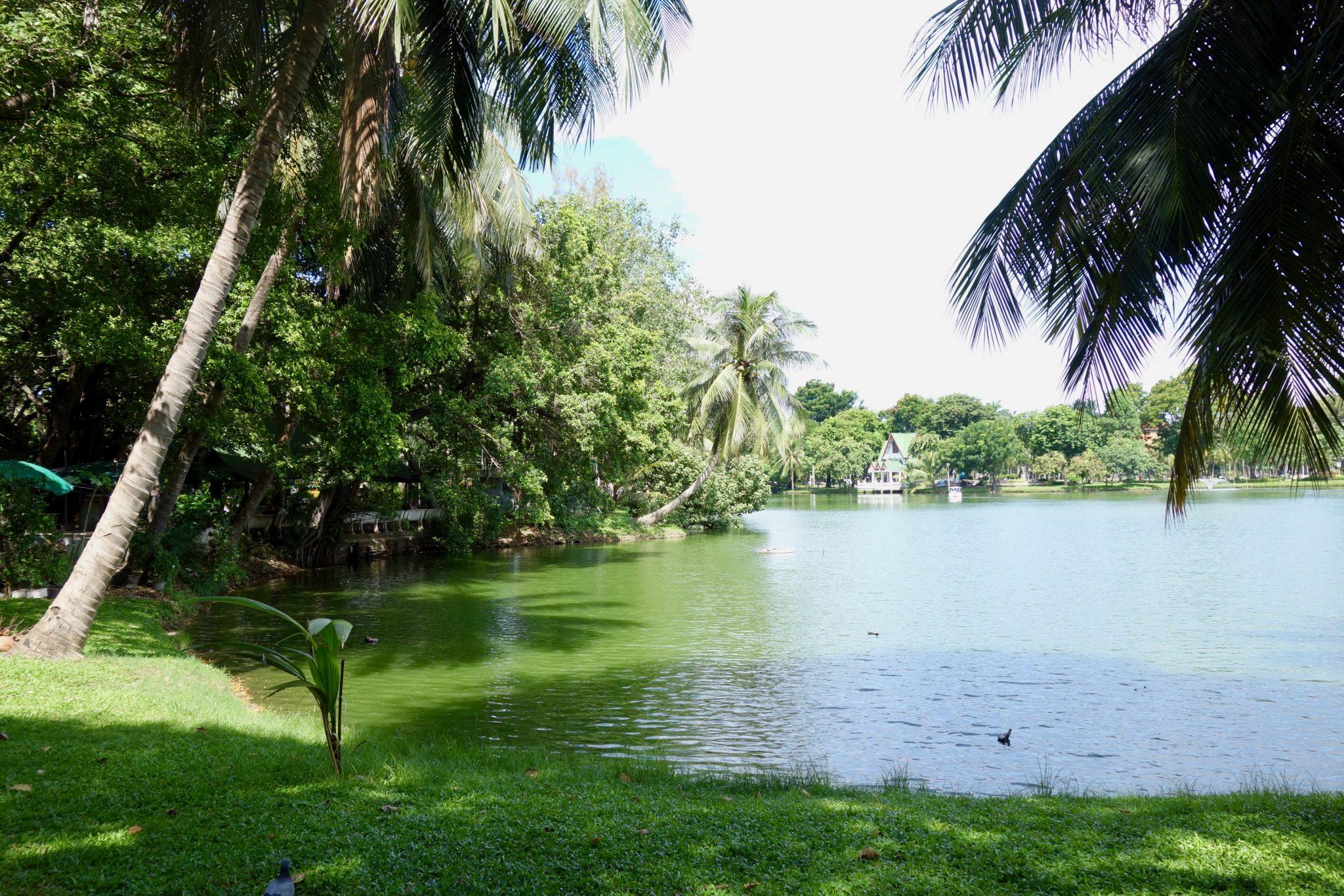 Thailand, Bangkok, Lumphini Park: ein sehr großer Park mit eigenem See