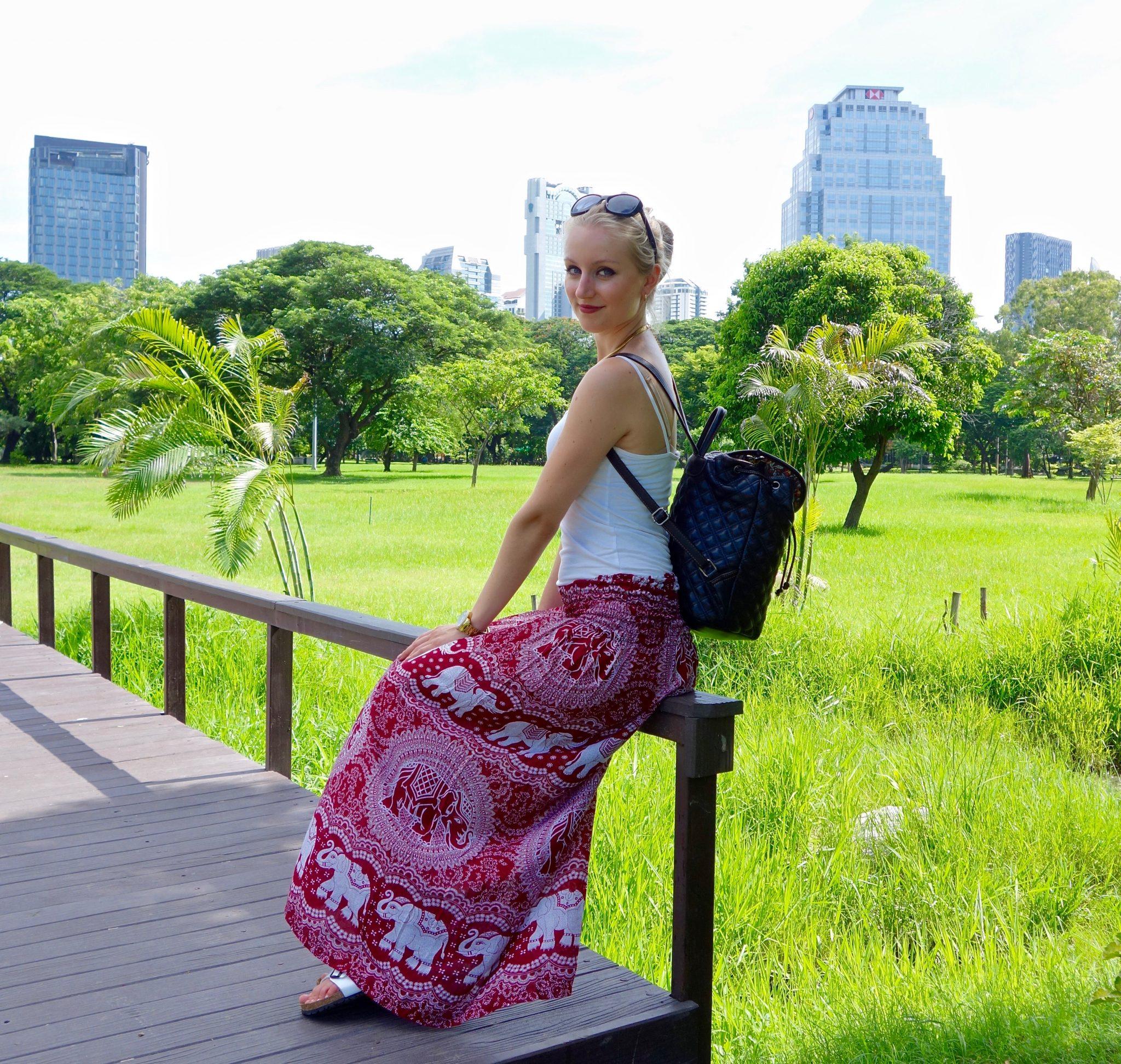 Thailand, Bangkok, Lumphini Park: nur wenige Touristen verirren sich hier hin