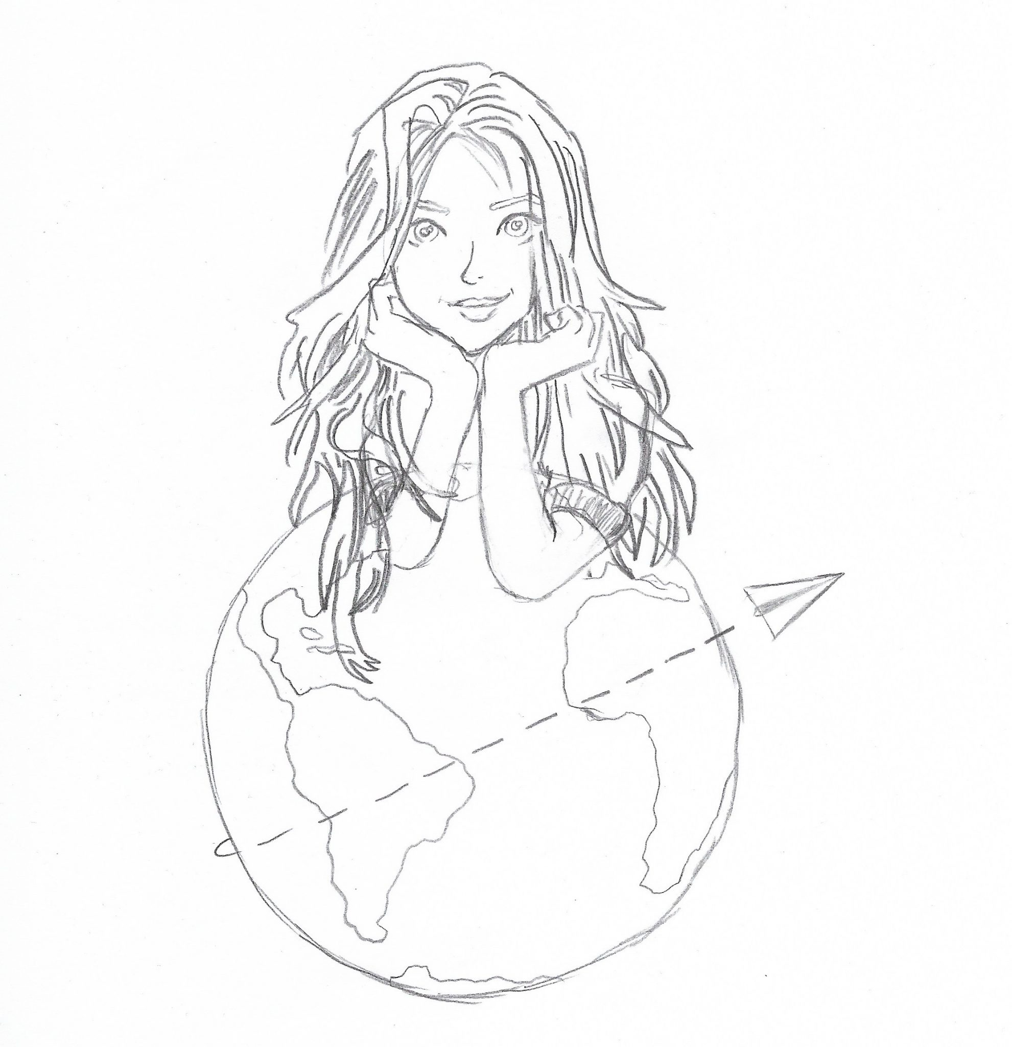 Danke dir, Jamila! Jedes Mal, wenn ich meine Website aufrufe, ist es das Erste, was ich sehe! Deine Zeichnung! Ich bin begeistert und super glücklich, dass du mein Logo gezeichnet hast! Du hast so viel Talent! Danke dir! Dies ist das Original, so sieht das Nessi's World Logo auf Papier aus! By Jamila, Instagram: _.fewdrawings._