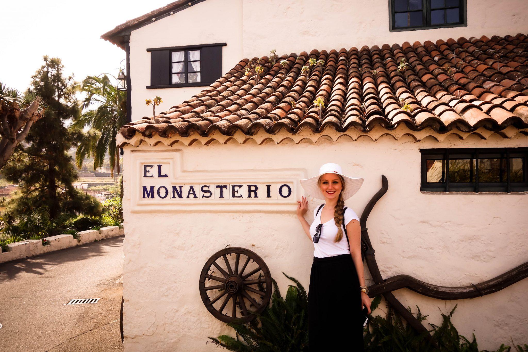 Teneriffa, Puerto de la Cruz: El Monasterio, von dort oben hast du einen wunderschönen Blick über die Insel. Sehr empfehlenswert!