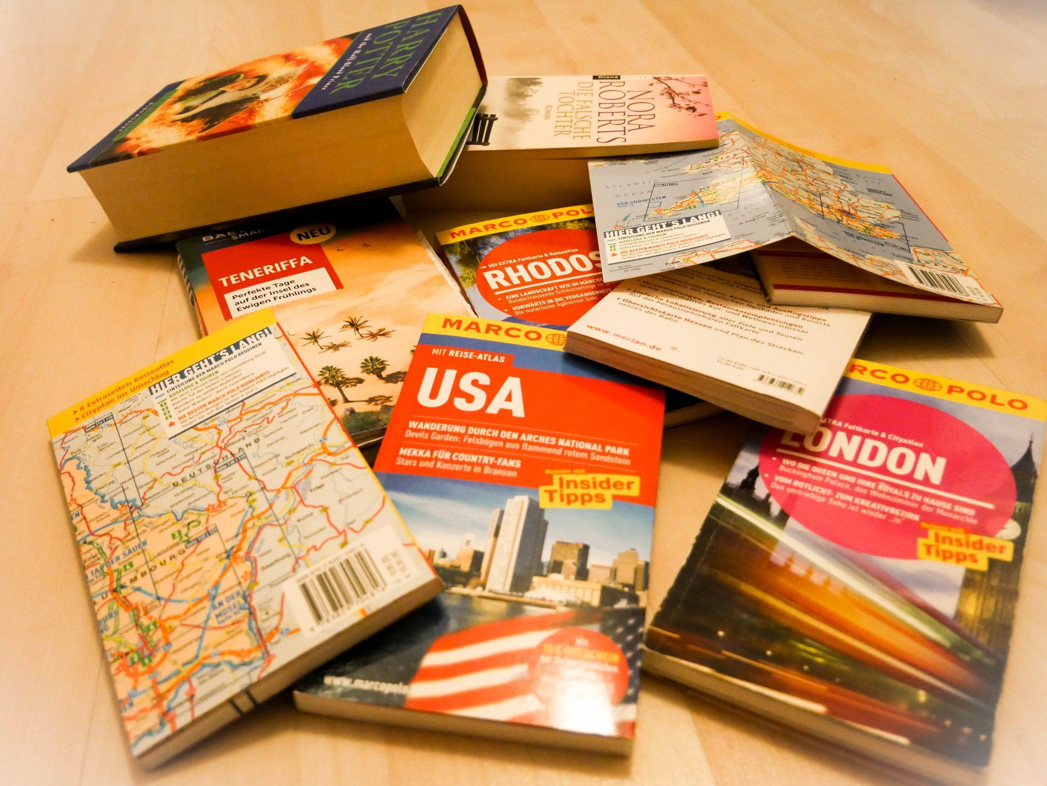 Sind Reiseführer und Bücher im heutigen Zeitalter wirklich nötig, im Koffer zu haben?