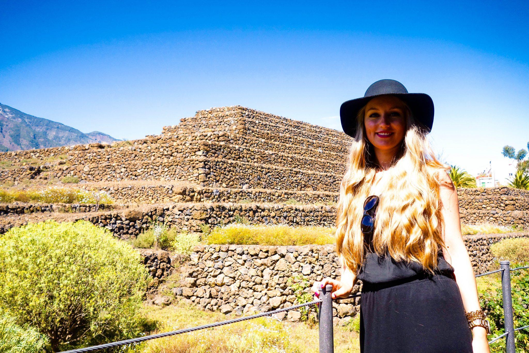 Teneriffa, Guimar: Dort stehen wirklich Pyramiden, warum und wie sie dort hingekommen ist, ist immer noch ein Rätsel für viele Forscher.