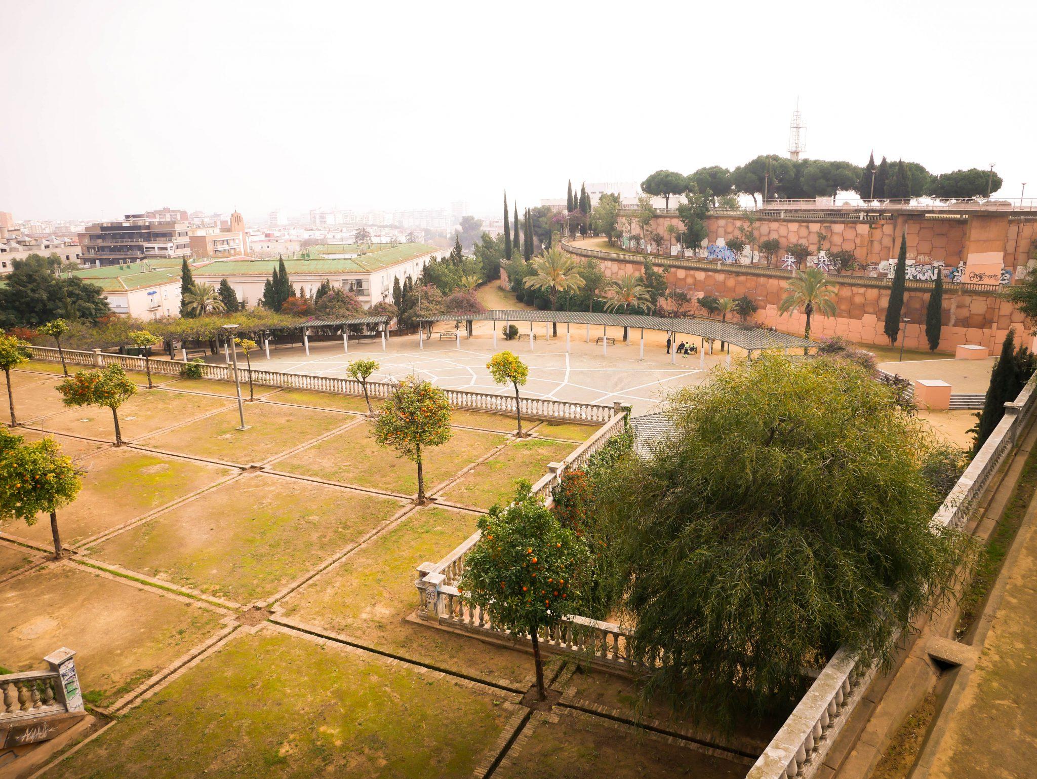 Huelva, Alonso sanchez Park: Der wohl ungewöhnlichste Park, den ich jemals gesehen habe!