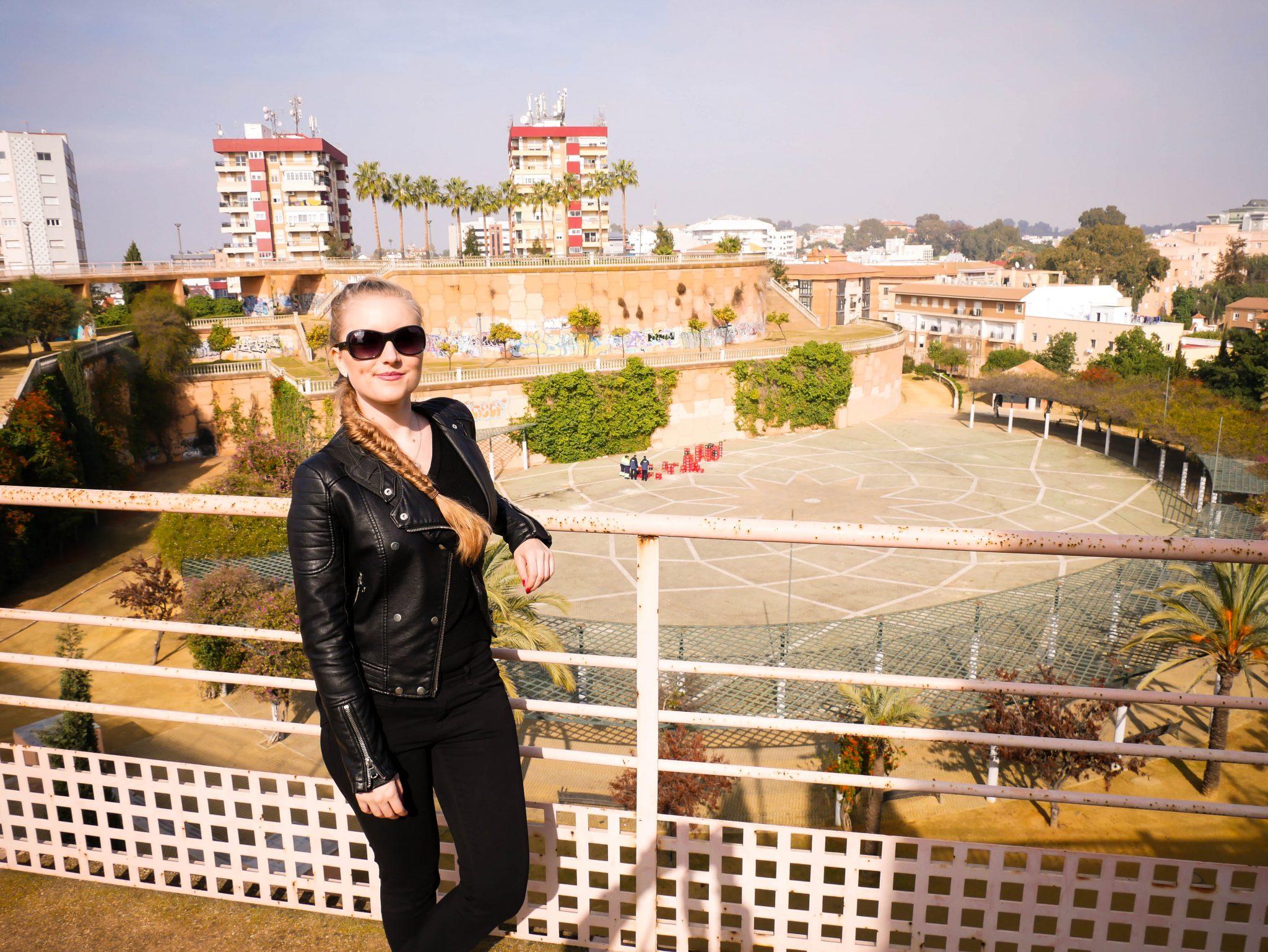 Huelva, Alonso sanchez Park: Auf diesem Bild kannst du den ganzen Park sehen.