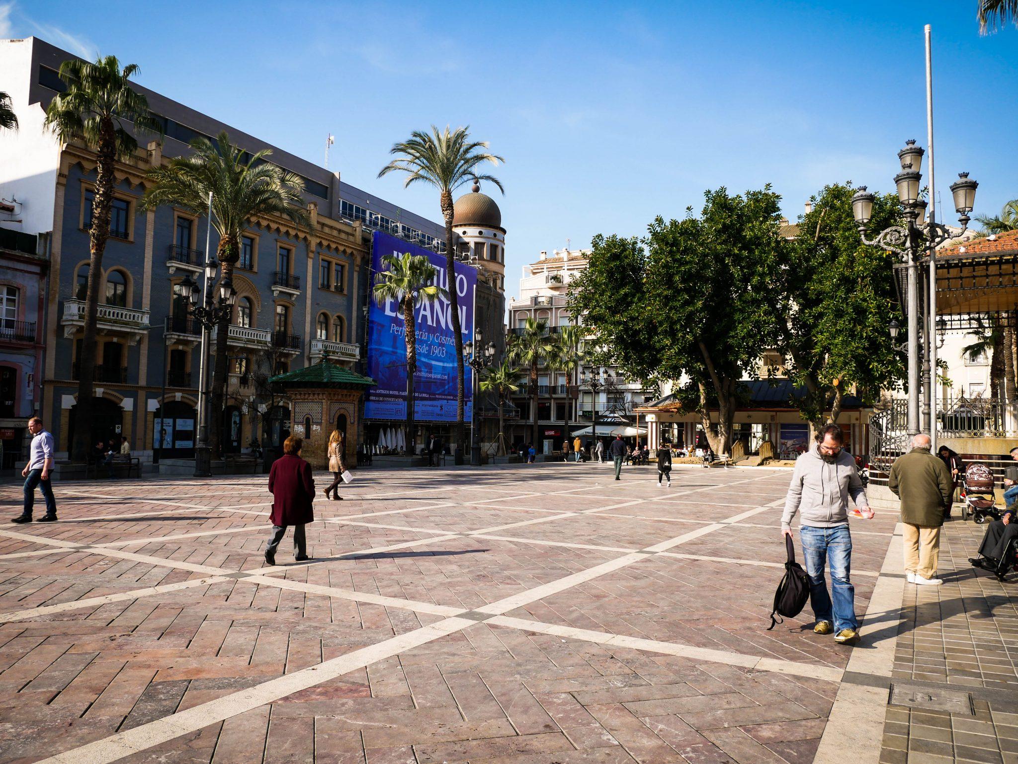 "Huelva, Plaza de las Monjas: Wörtlich übersetzt heißt der Platz ""Platz der Nonnen""."