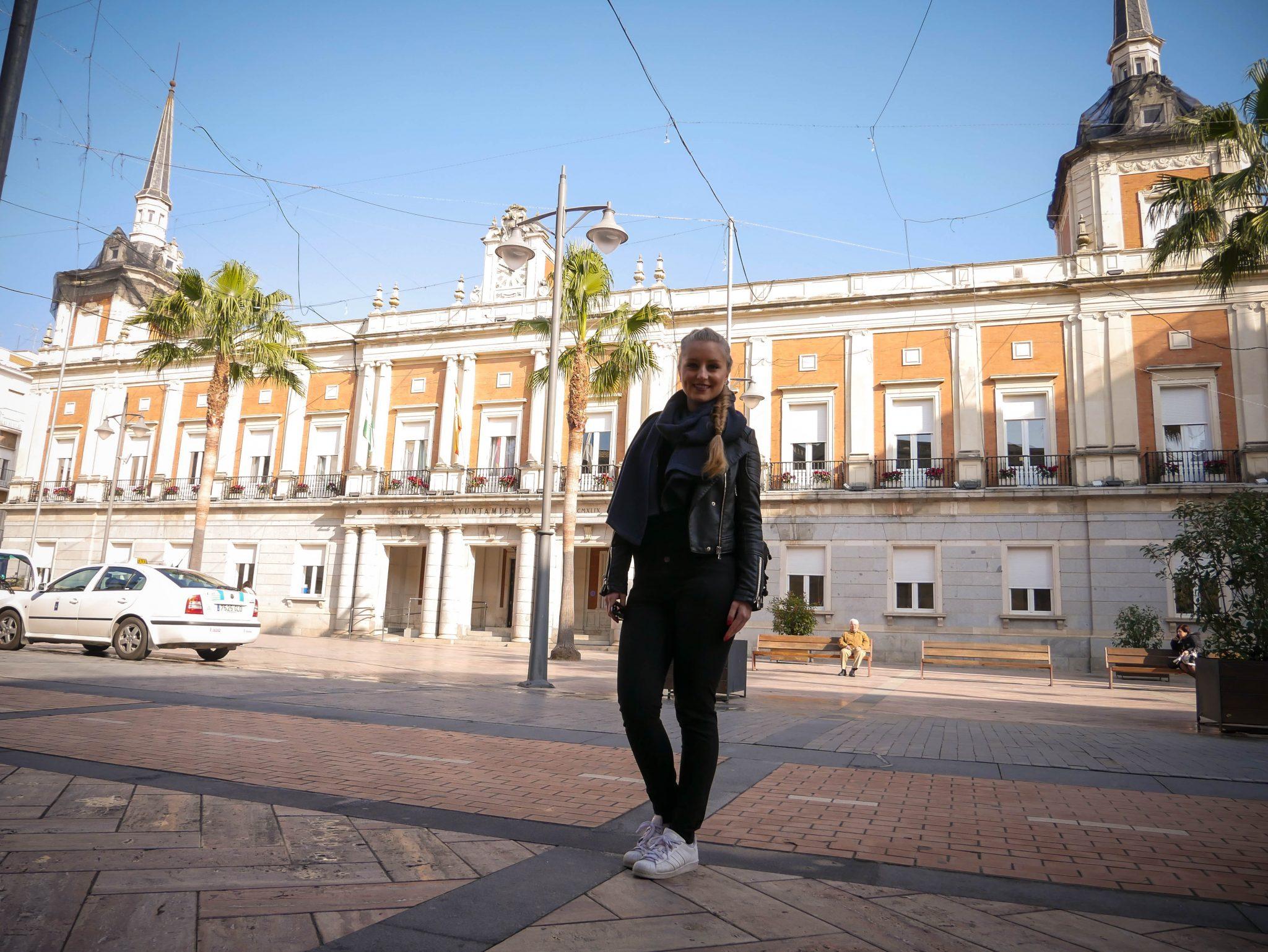 Huelva, Rathaus: Ich hoffe dir hat Huelva genauso gut gefallen wie mir :)