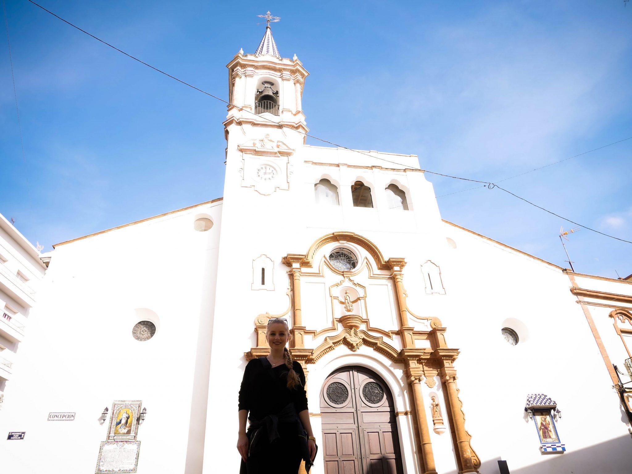 Huelva, Kathedrale: 2 mal wurde sie von einem Erdbeben heimgesucht und musste wiederaufgebaut werden.