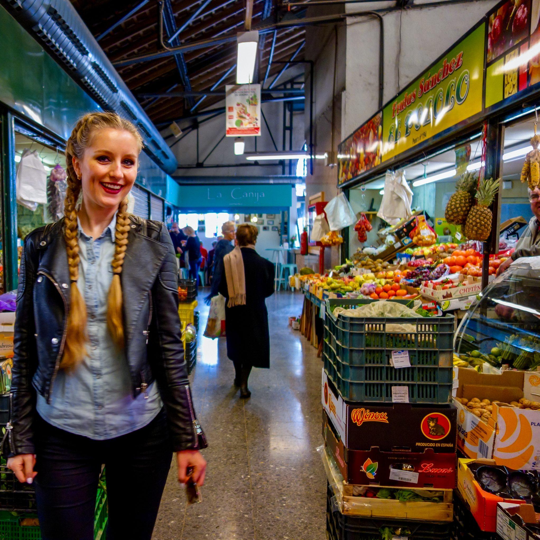 Den Mercado de Verónicas in Murcia solltest du definitiv mit etwas Hunger besuchen.