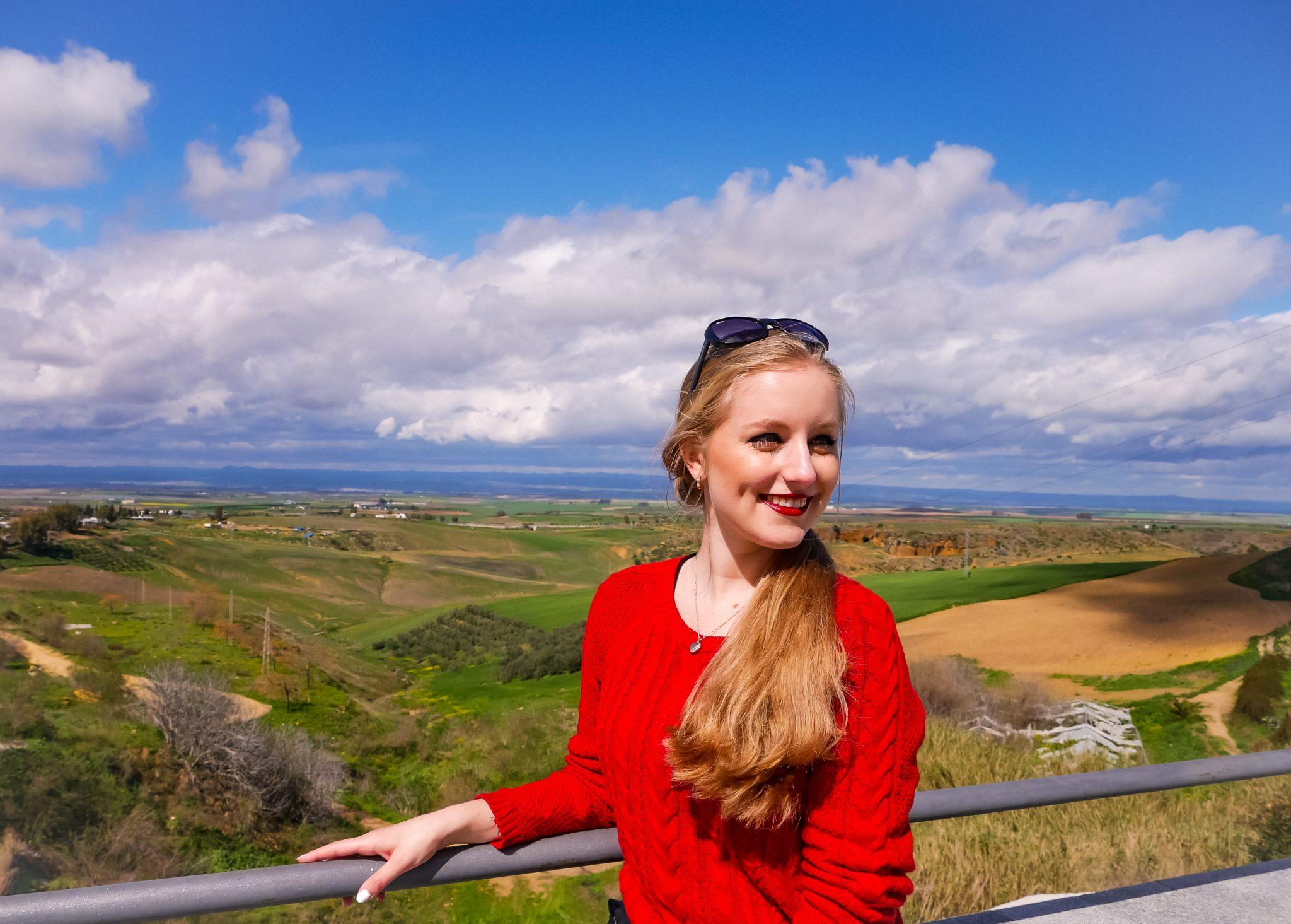 Da Carmona auf einem Hügel liegt, ist die Aussicht unglaublich!