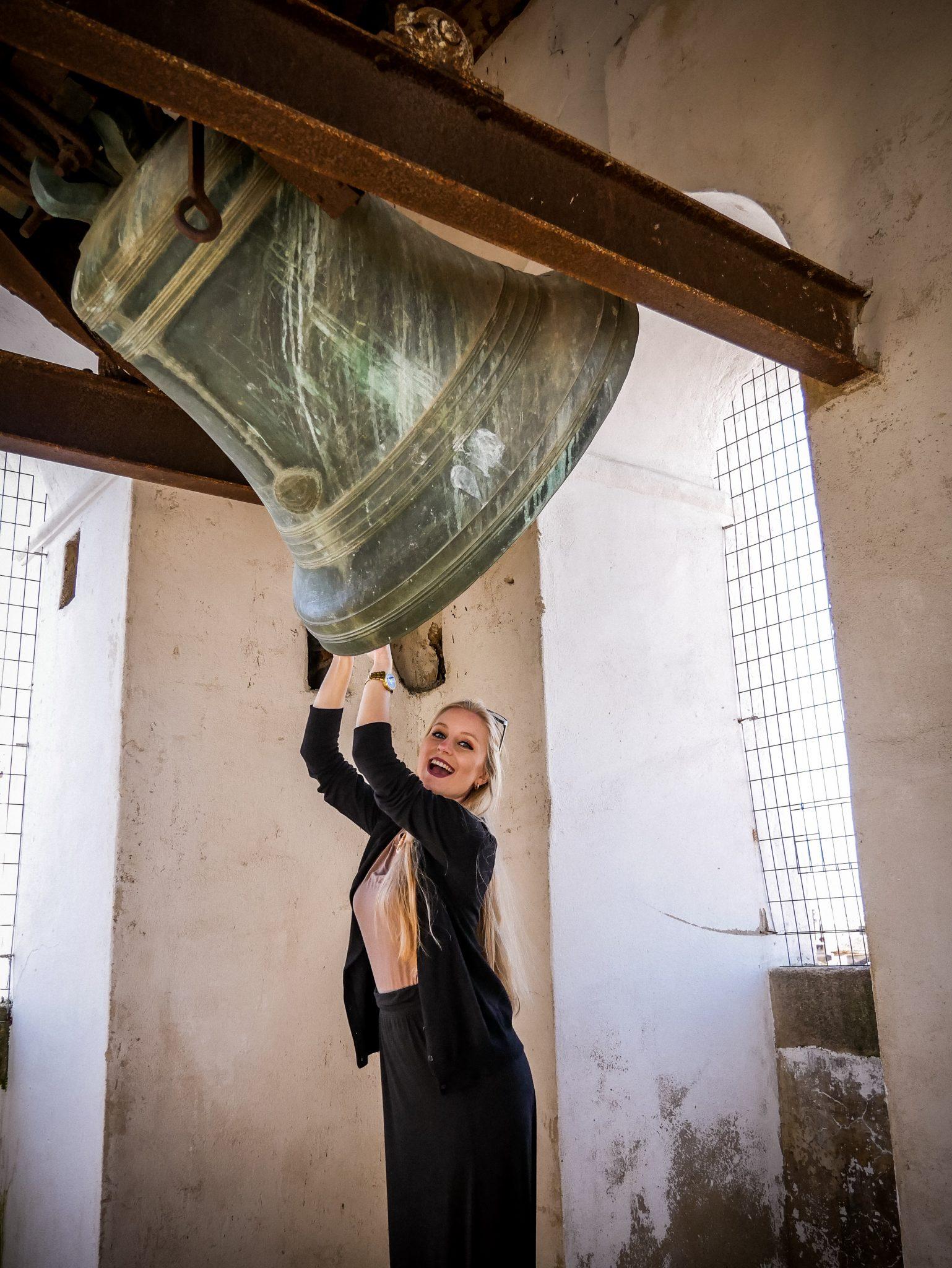Lasst uns zusammen die Stadt Cáceres aus ihrem Dornröschenschlaf erwecken! Das Bild ist übrigens auf einem der Kirchtürme der Iglesia de San Francisco Javier entstanden.