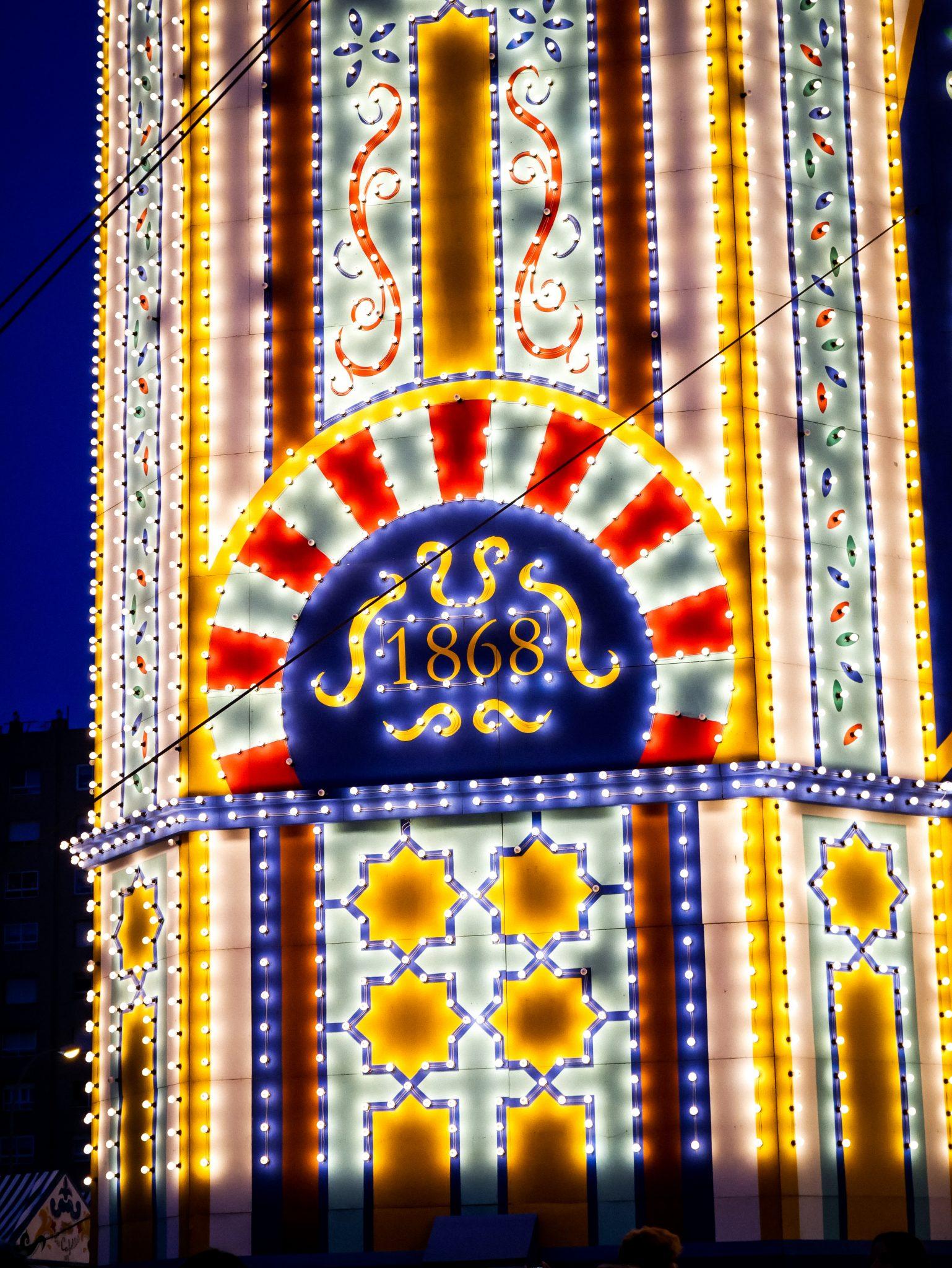 Seit dem Jahre 1868 existiert die Feria de abril in Sevilla, damals um die Wirtschaft der Stadt wieder zu beleben.