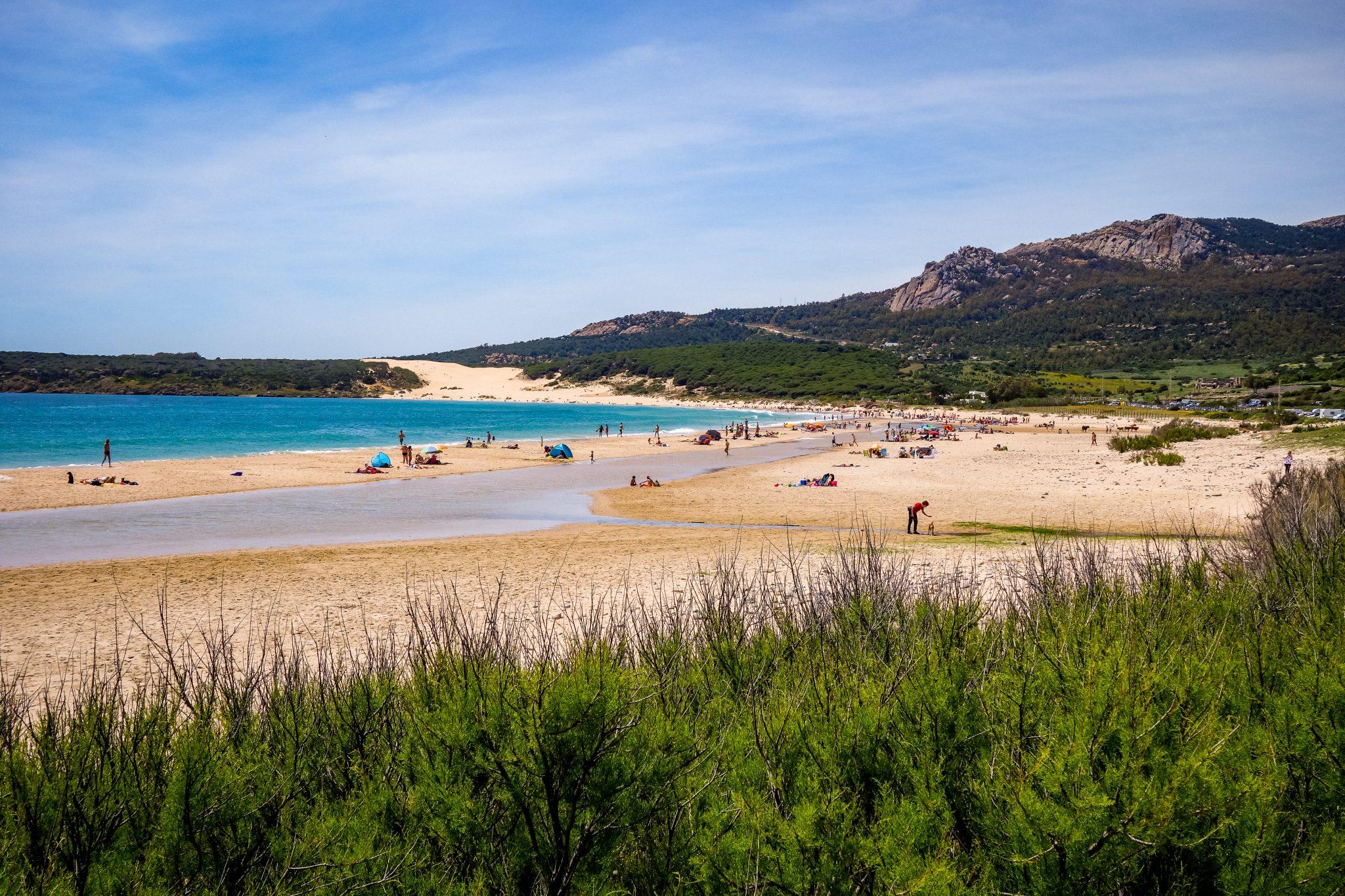 Der Playa Bolonia ist 4 Kilometer lang!