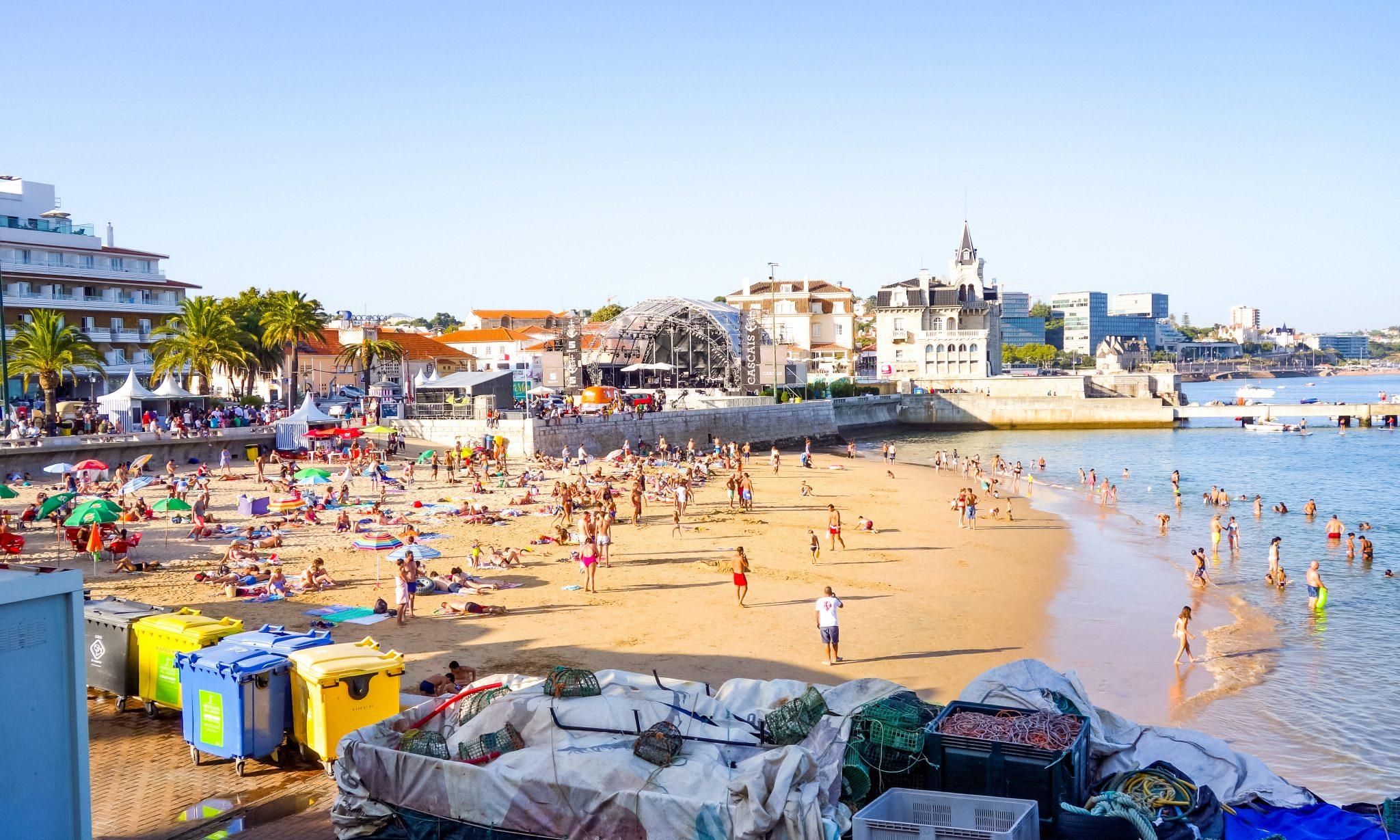 Portugal, Cascais, Strand