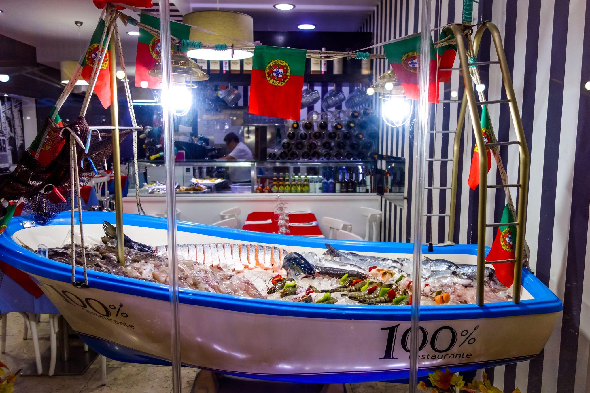 Portugal, Fisch im Boot