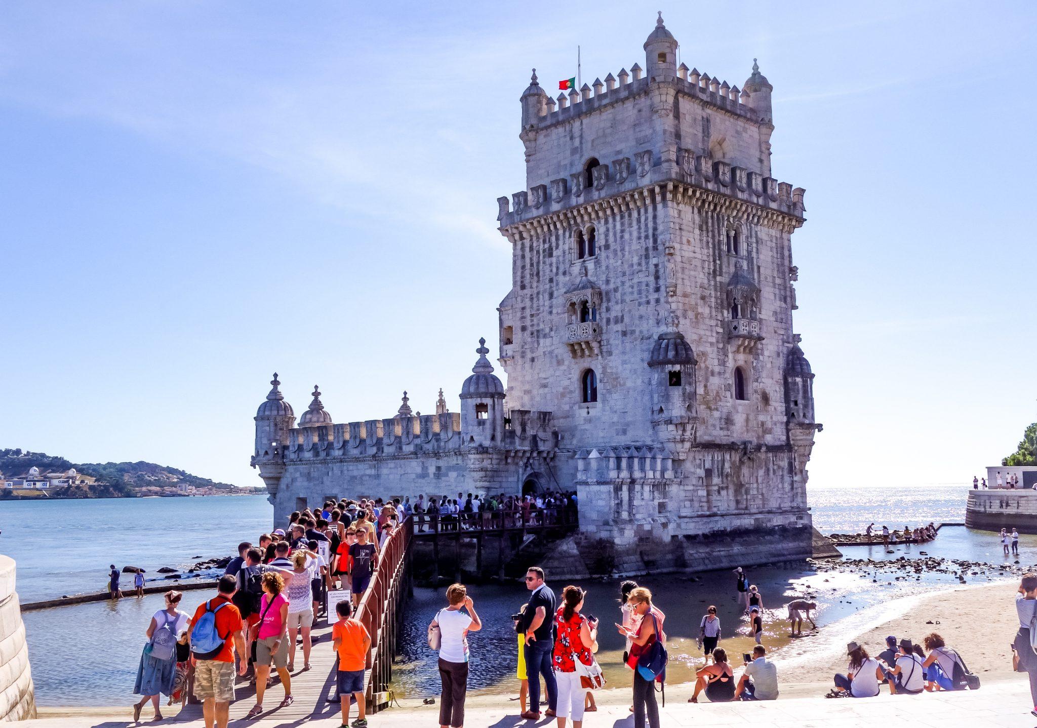 Portugal, Lissabon, Belém, Torre de Belém
