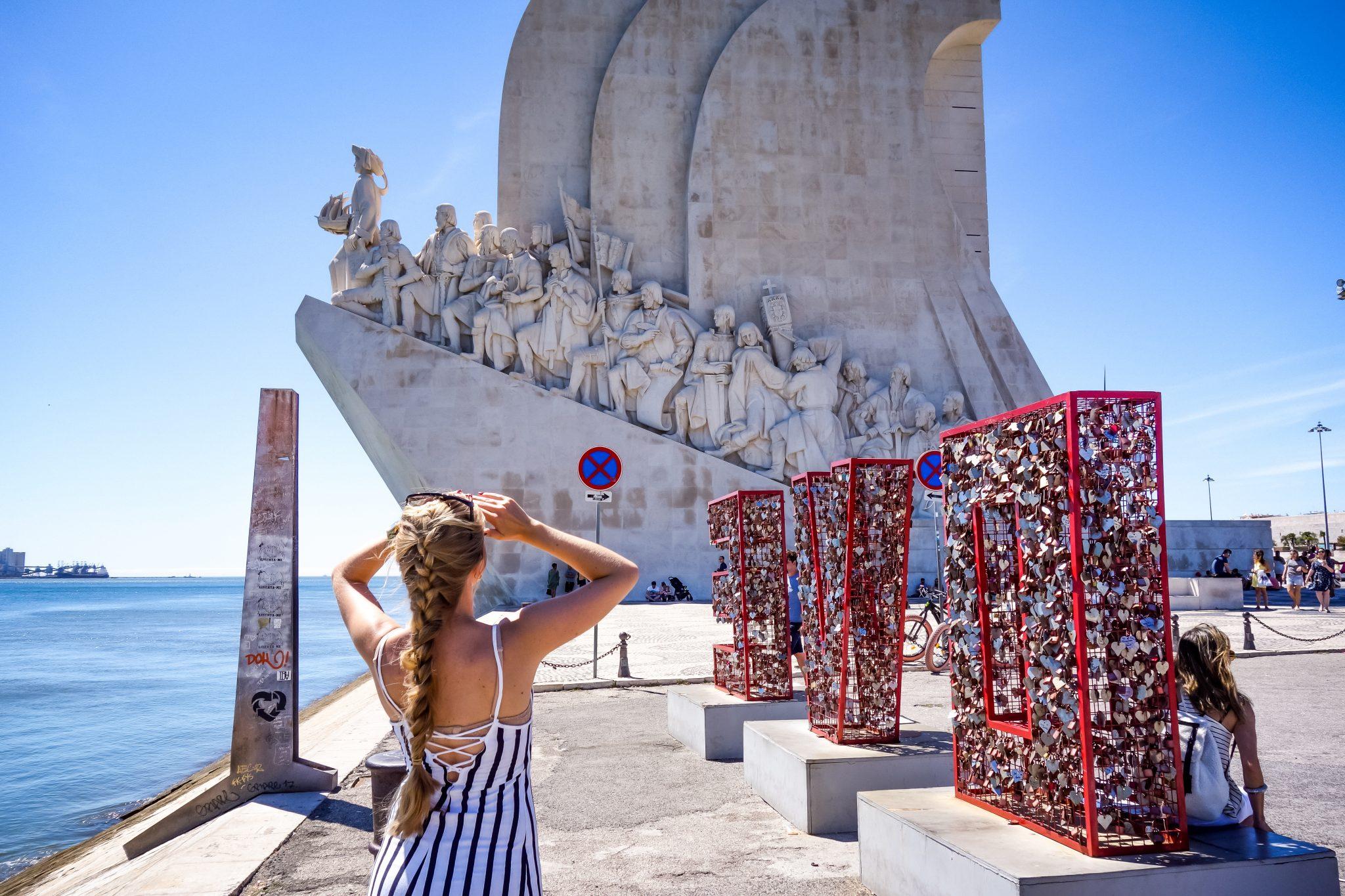 Portugal, Lissabon, Belém, padrão dos Descobrimentos