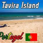 Tavira Island, Portugal: 10 Kilometer lange Insel aus Sand!