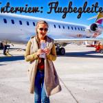 Interview: 10 Fragen an eine Flugbegleiterin