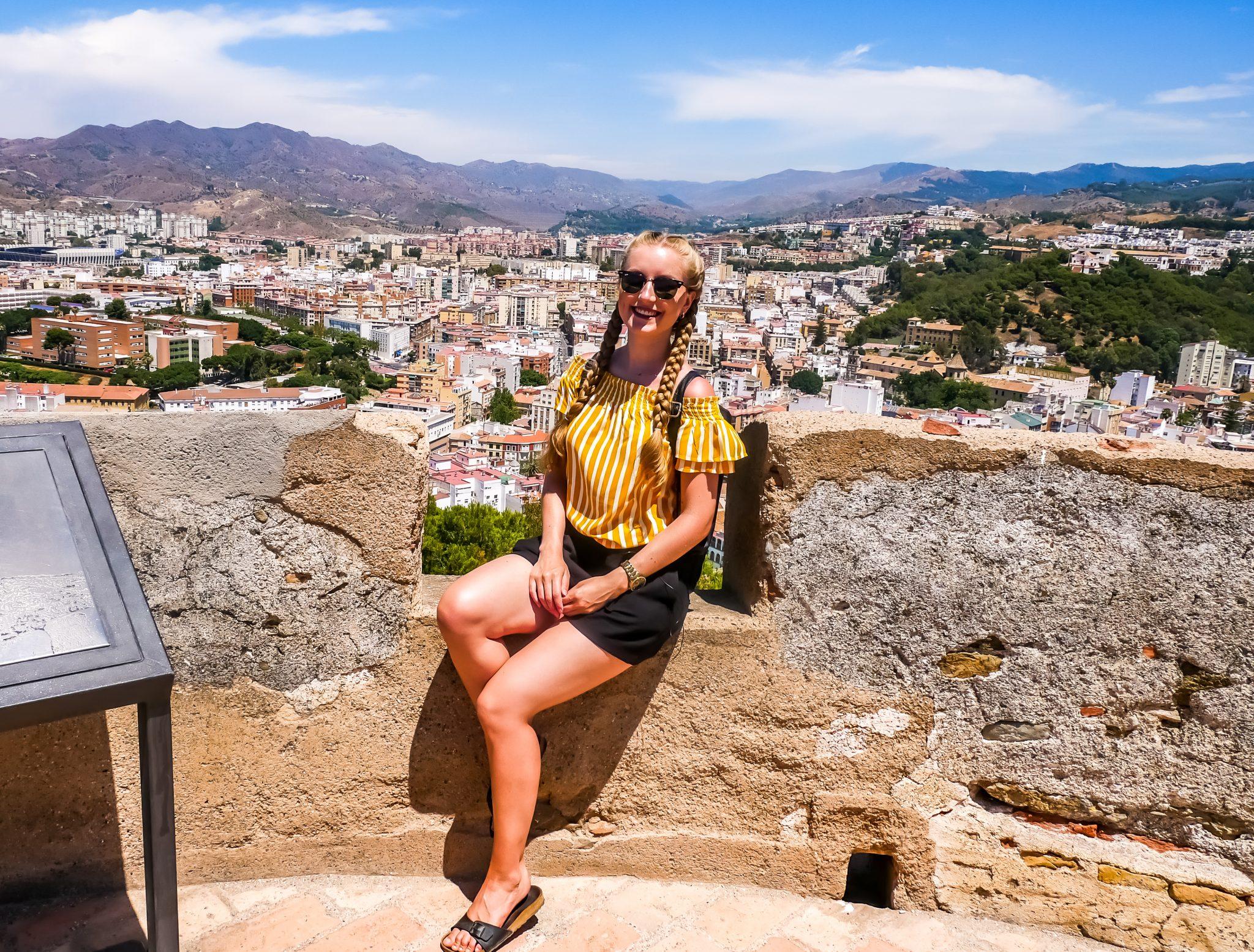 Vom Castillo de Gibralfaro hast du höchstwahrscheinlich den besten Blick auf Málaga.