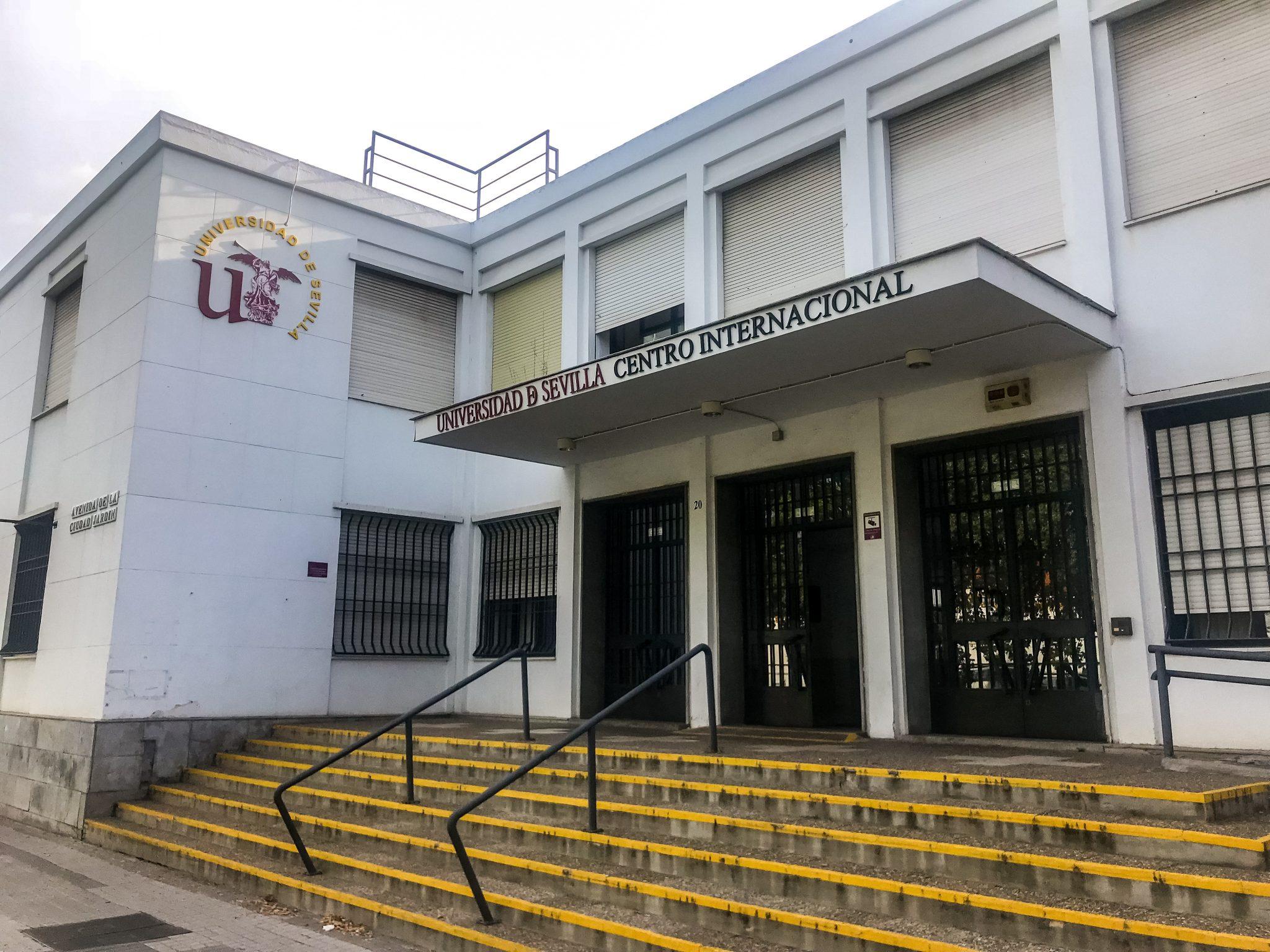 Einer der Haupteingänge vom Centro Internacional, der andere sieht genauso aus.