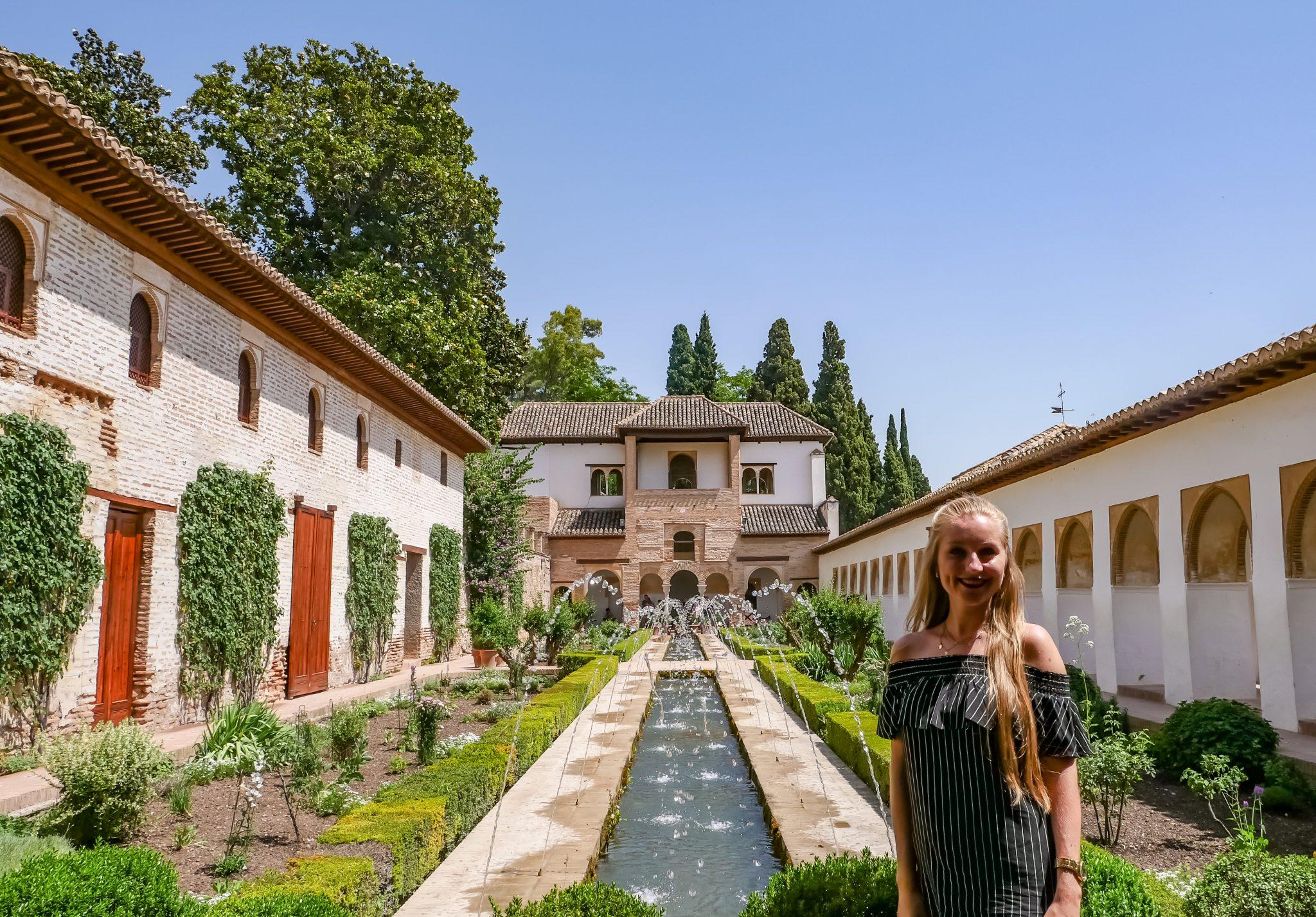 Die Gärten der Generalife sind herrlich!