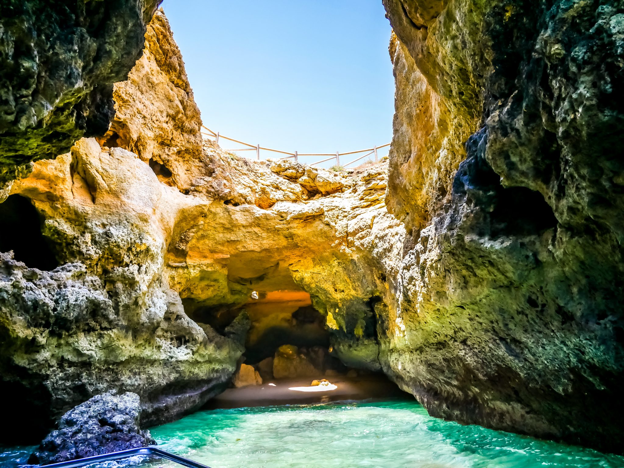 Die bekanntesten Höhlen Europas befinden sich an der Algarve, Portugal