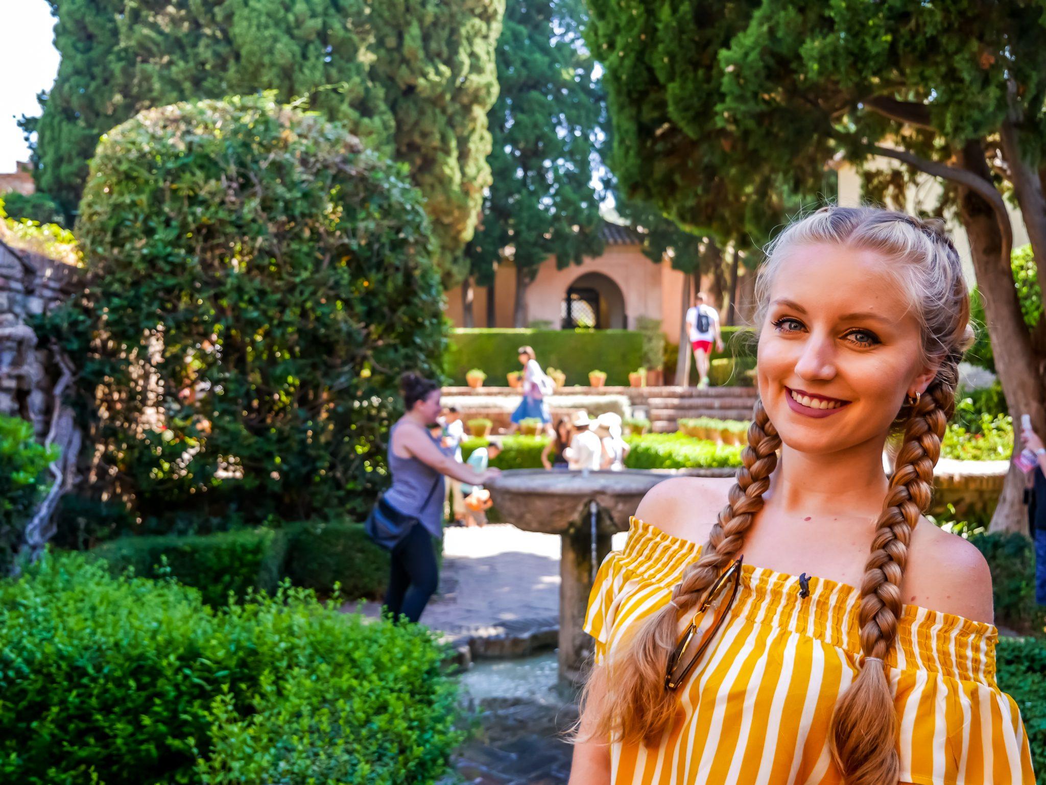 Überall im Alcazaba wirst du kleine Innenhöfe und Gärten finden, welche mit sehr viel Liebe angelegt worden sind.