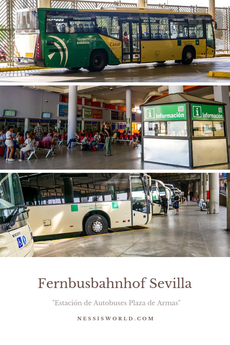 Buslinien bis nach Deutschland fahren von Sevilla aus.