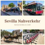 Sevilla – Bus, Bahn, Metro, oder doch Fahrrad?