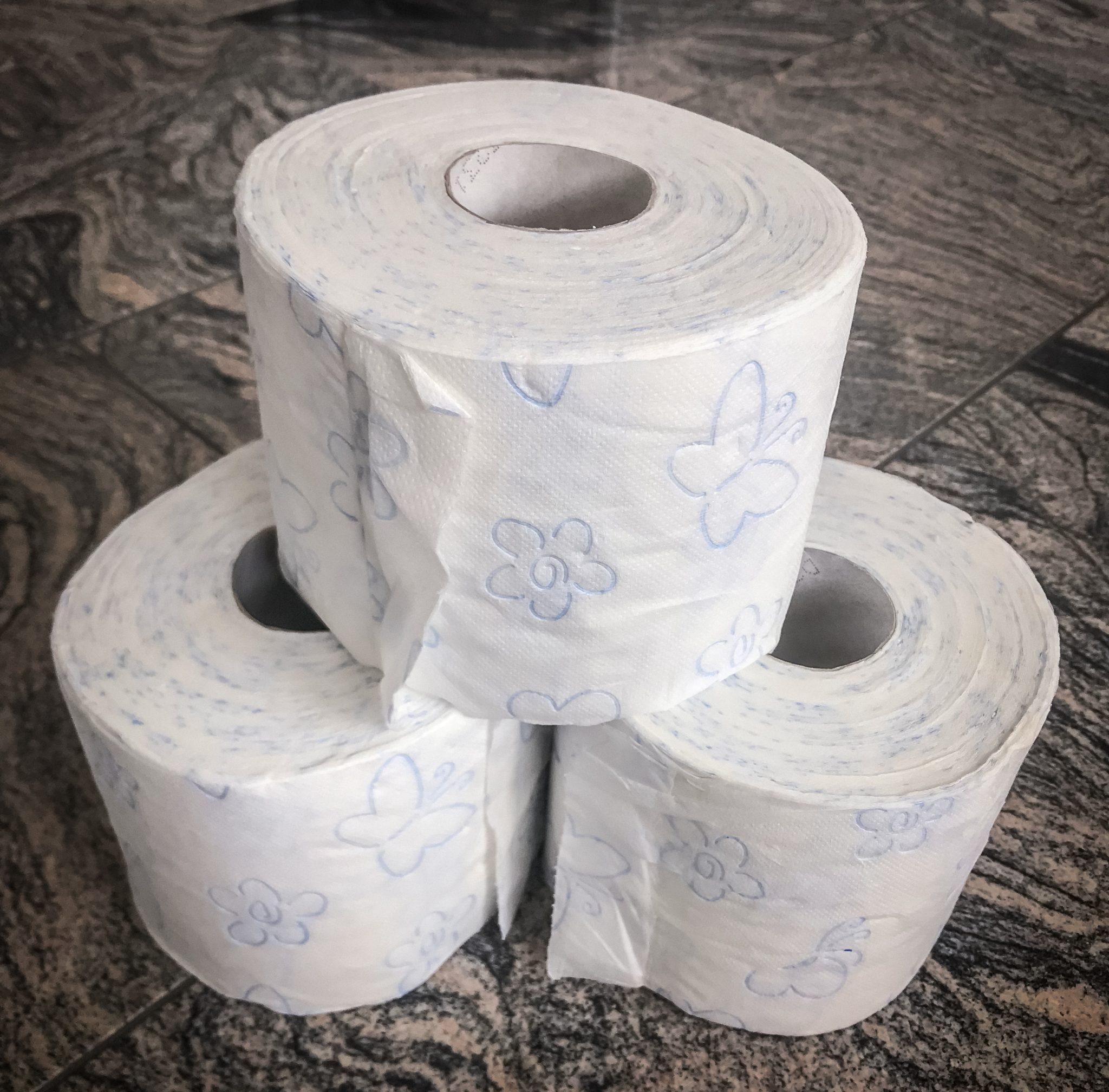 Pack dir unbedingt auch eine (oder mehrere) Toilettenpapier-Rollen mit ein.