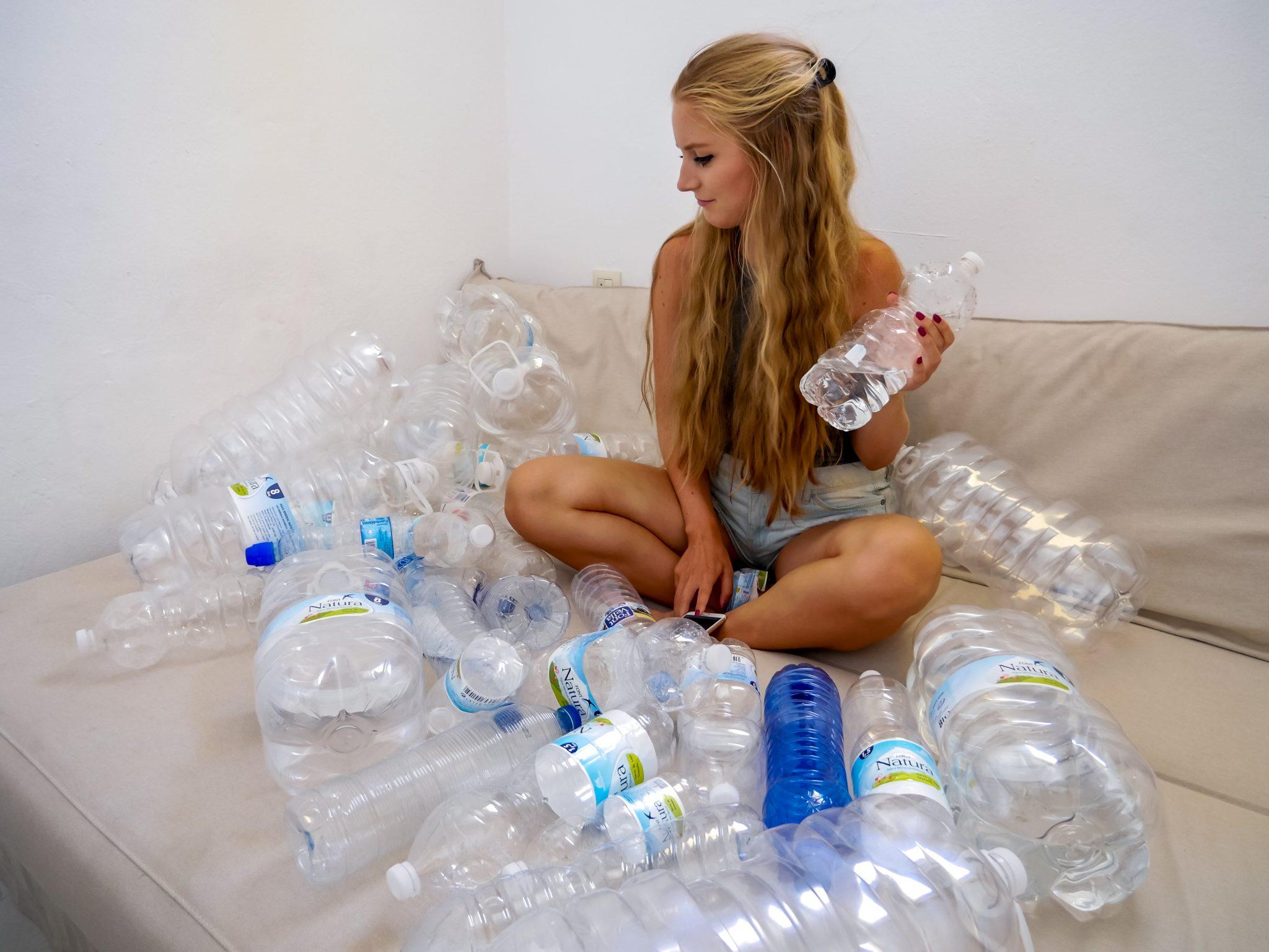 Spanien besitzt kein Pfandflaschen-System. Wasser aus der Leitung ist nicht immer trinkbar...