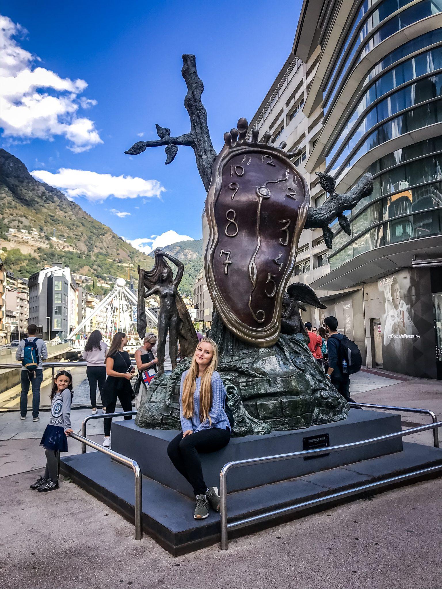 Eine der Hauptsehenswürdigkeiten der Hauptstadt von Andorra.